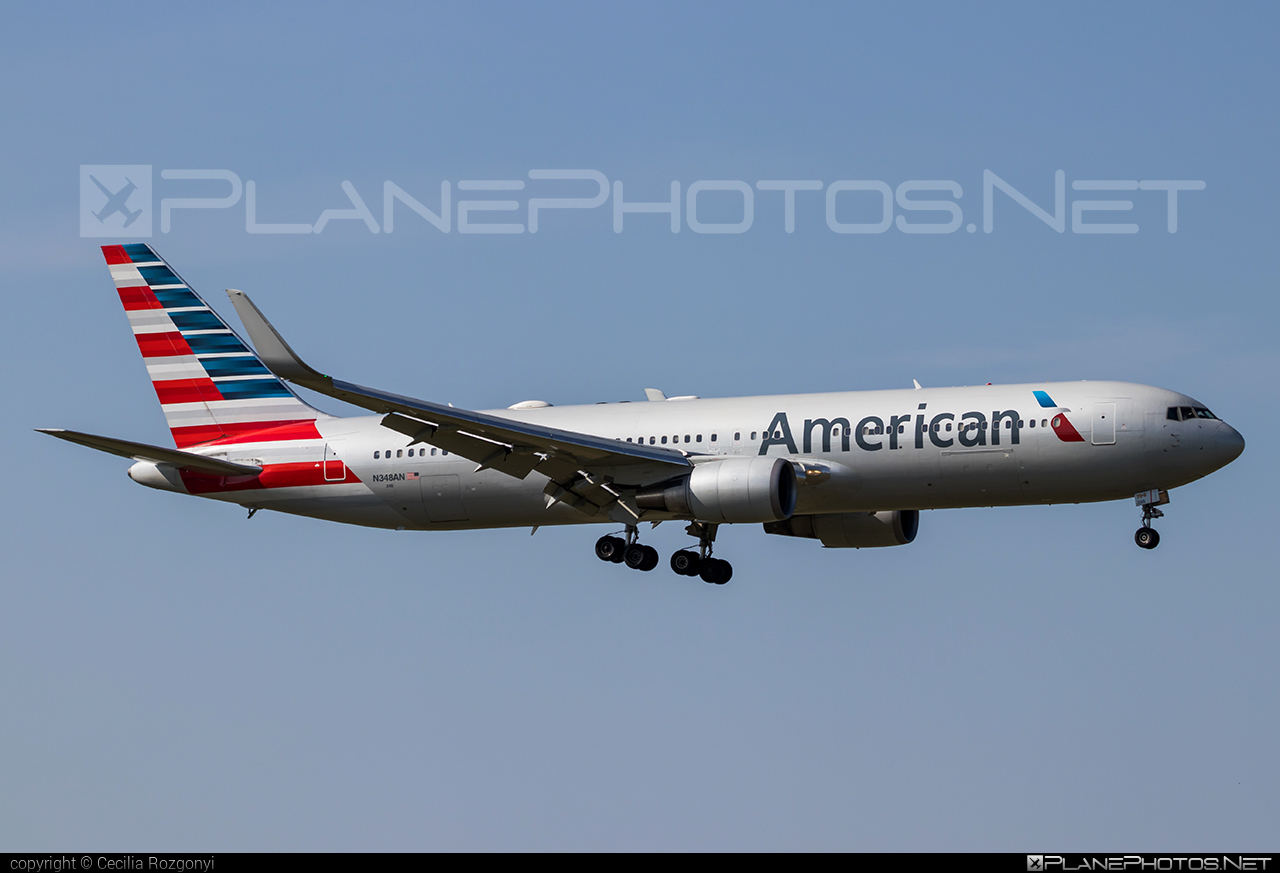 Boeing 767-300ER - N348AN operated by American Airlines #americanairlines #b767 #b767er #boeing #boeing767