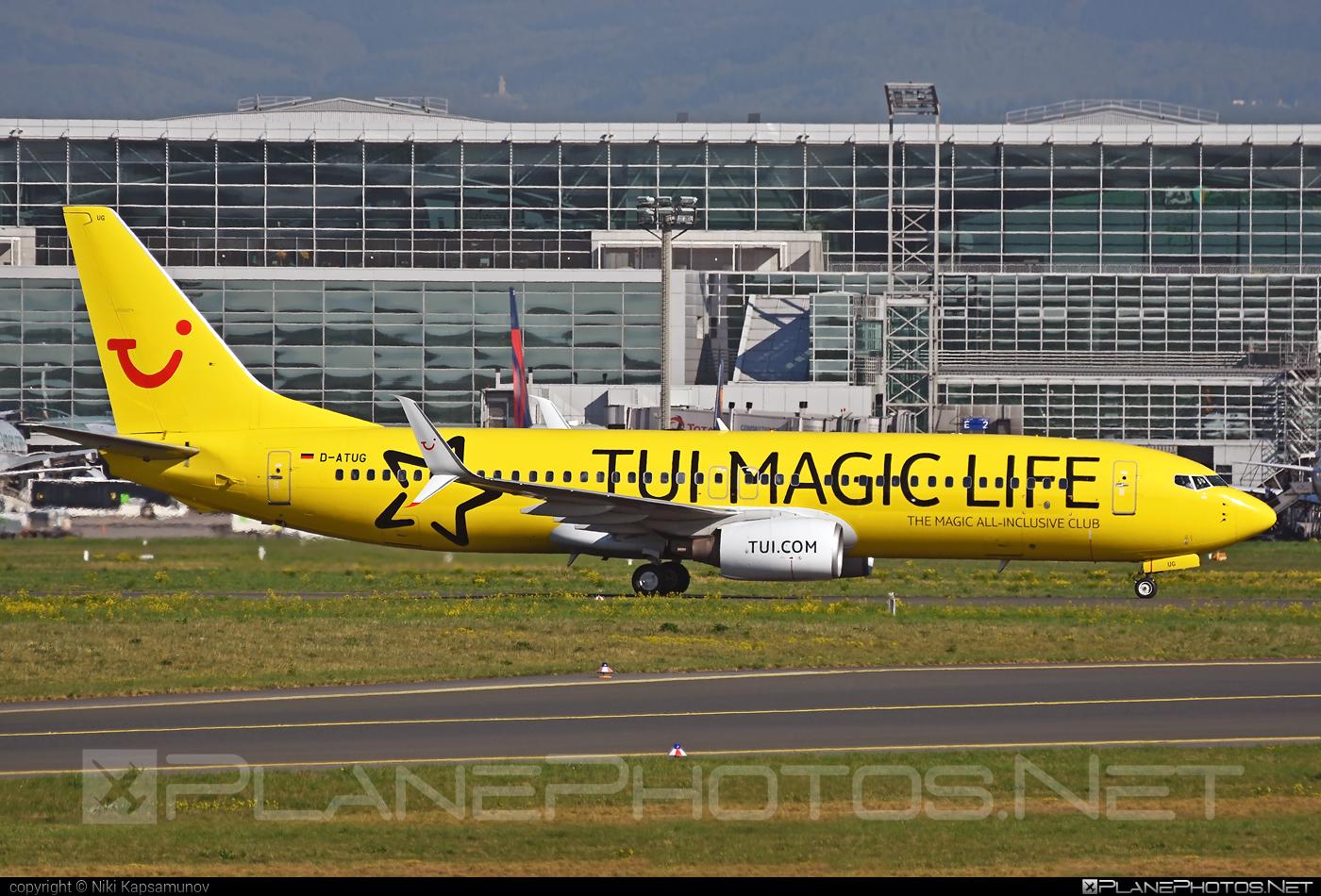 Boeing 737-800 - D-ATUG operated by TUIfly #b737 #b737nextgen #b737ng #boeing #boeing737 #tui #tuifly