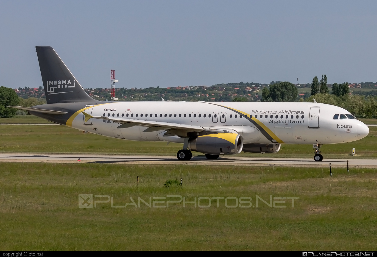 Airbus A320-232 - SU-NMC operated by Nesma Airlines #a320 #a320family #airbus #airbus320
