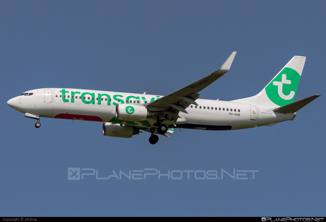 Transavia Airlines Boeing 737-800 - PH-HSB #b737 #b737nextgen #b737ng #boeing #boeing737 #transavia #transaviaairlines