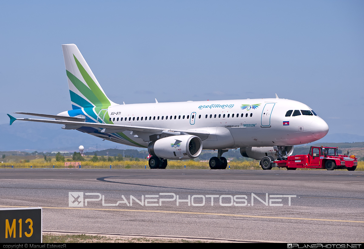 Airbus A319-131 - XU-971 operated by Lanmei Airlines #a319 #a320family #airbus #airbus319 #lanmeiairlines