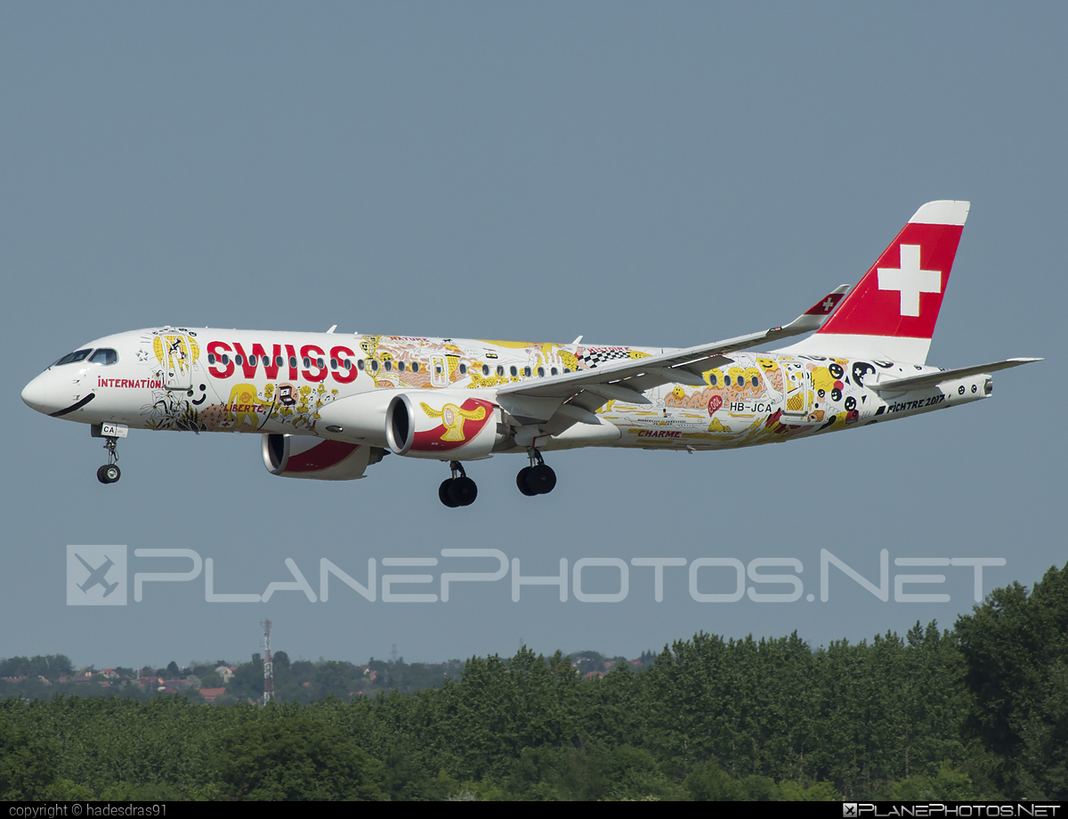 Swiss International Air Lines Airbus A220-300 - HB-JCA #a220300 #a220family #airbus #cs300 #cseries #cseries300 #swiss #swissairlines