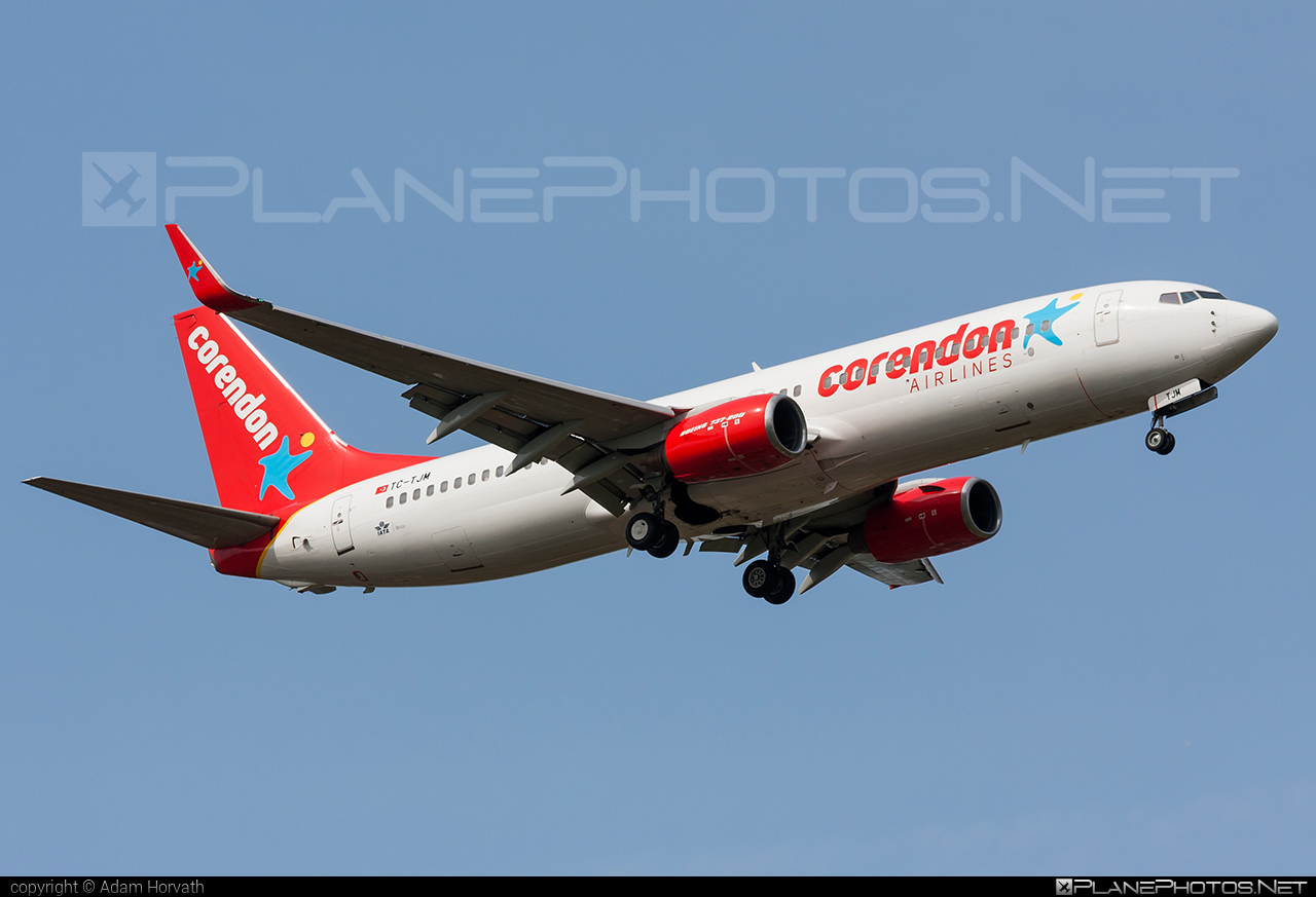 Boeing 737-800 - TC-TJM operated by Corendon Airlines #b737 #b737nextgen #b737ng #boeing #boeing737