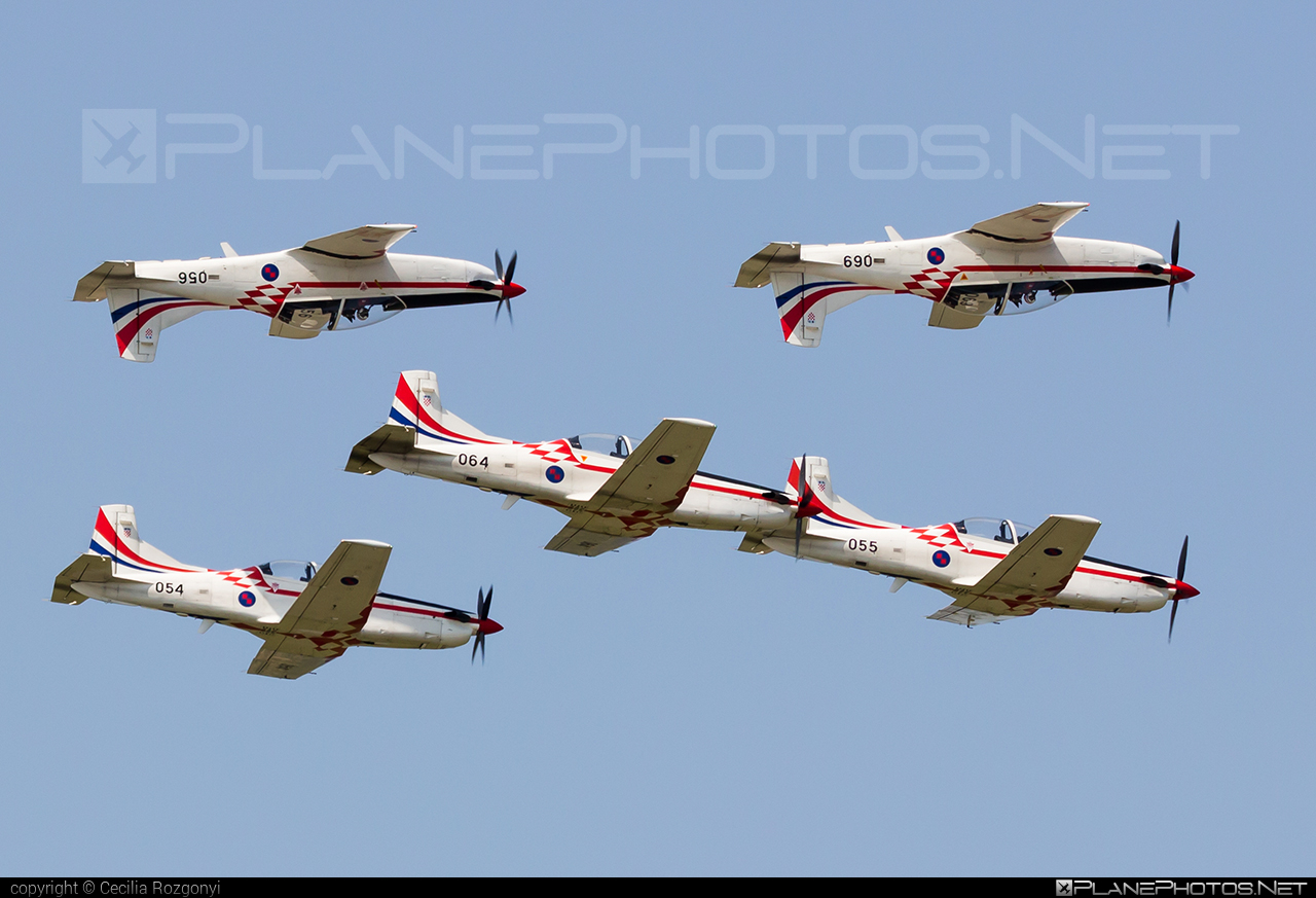 Pilatus PC-9M - 056 operated by Hrvatsko ratno zrakoplovstvo i protuzračna obrana (Croatian Air Force) #pilatus