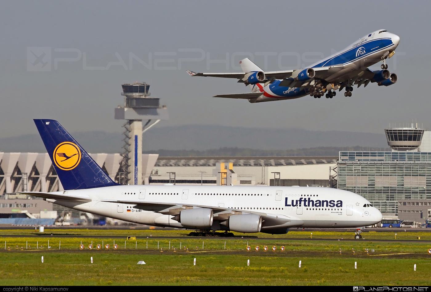 Lufthansa Airbus A380-841 - D-AIMF #a380 #a380family #airbus #airbus380 #lufthansa