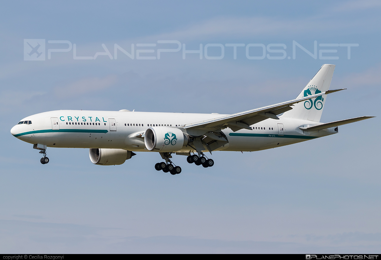 Crystal AirCruise Boeing 777-200LR - P4-XTL #b777 #b777lr #boeing #boeing777 #crystalaircruise #tripleseven
