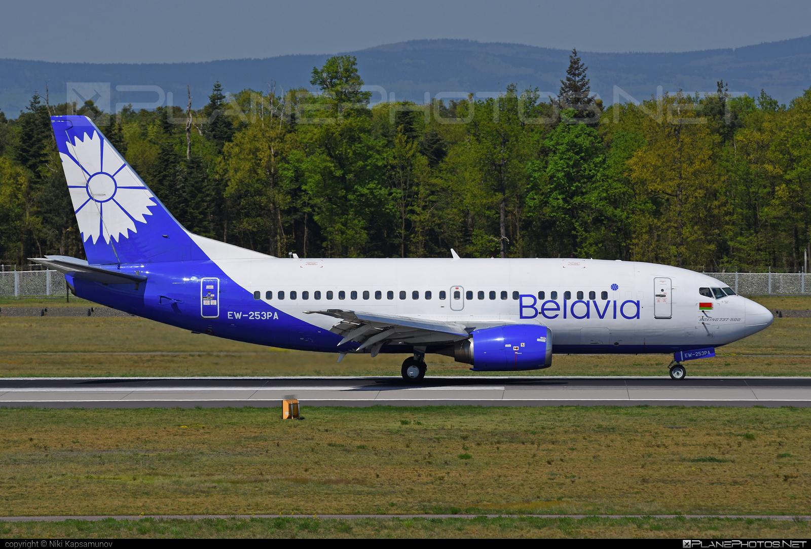 Belavia Belarusian Airlines Boeing 737-500 - EW-253PA #b737 #belavia #boeing #boeing737