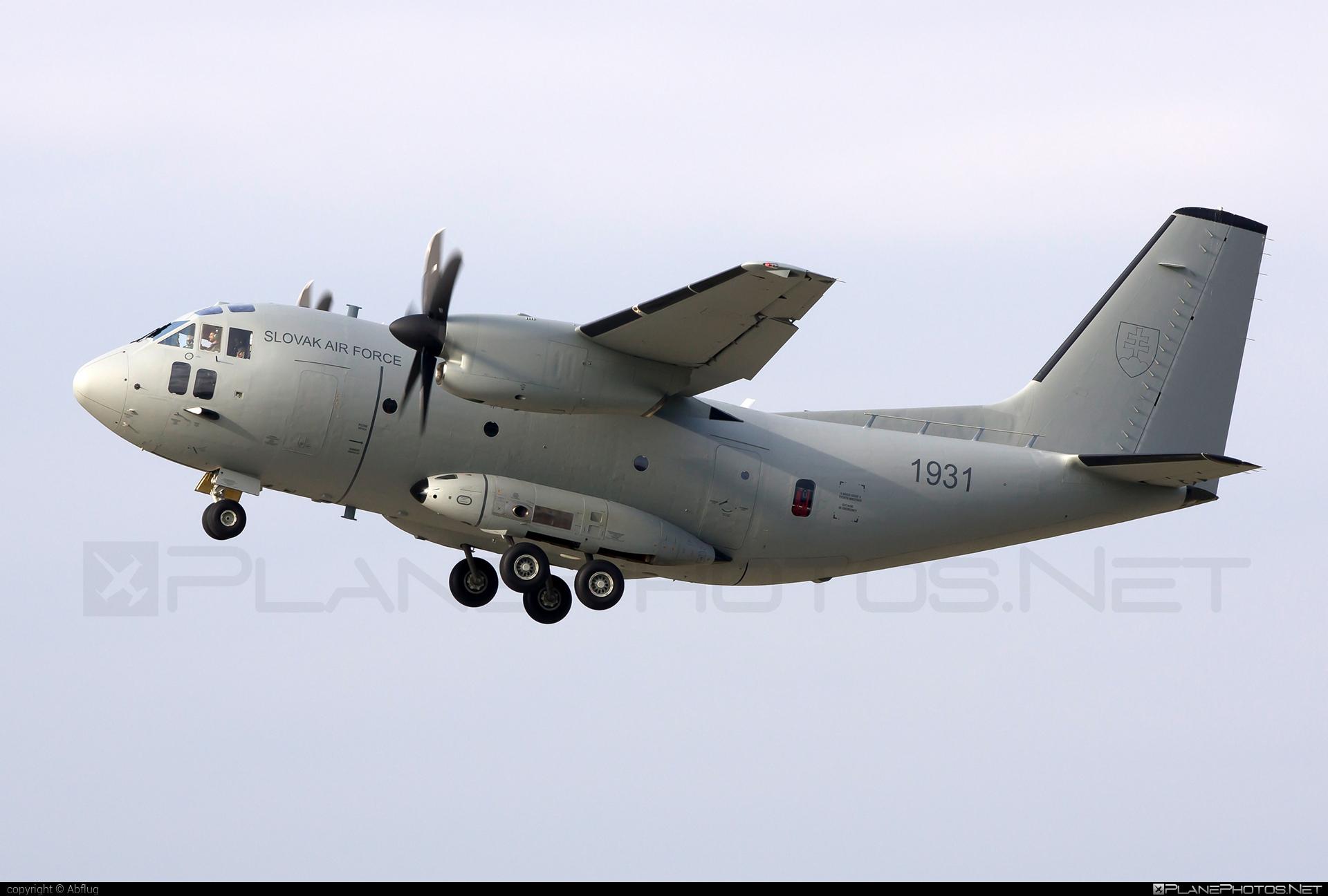 Vzdušné sily OS SR (Slovak Air Force) Leonardo C-27J Spartan - 1931 #leonardo #slovakairforce #vzdusnesilyossr