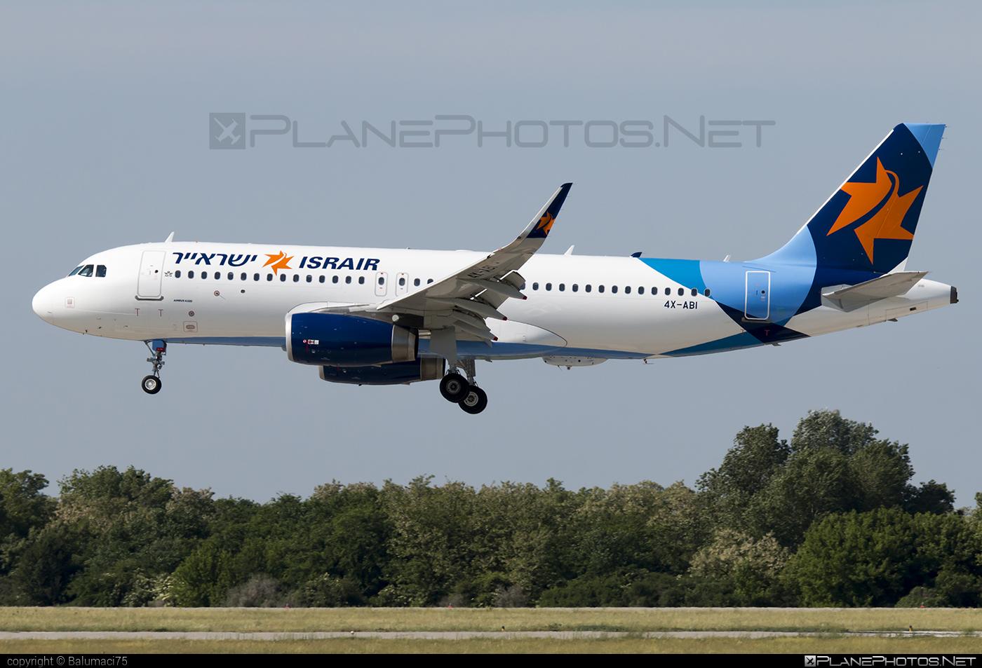 Israir Airbus A320-232 - 4X-ABI #a320 #a320family #airbus