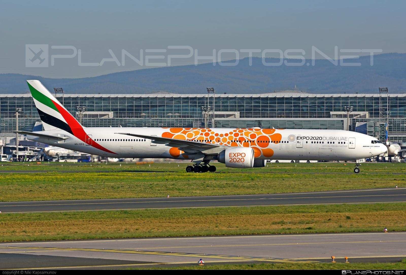 Emirates Boeing 777-300ER - A6-EPO #b777 #boeing #emirates #tripleseven