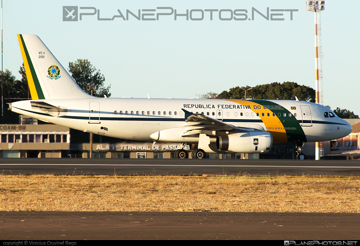 Airbus VC-1A - FAB2101 operated by Força Aérea Brasileira (Brazilian Air Force) #airbus
