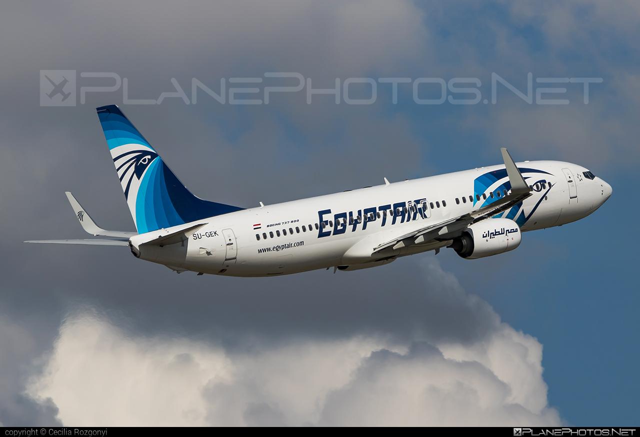 EgyptAir Boeing 737-800 - SU-GEK #b737 #b737nextgen #b737ng #boeing #boeing737