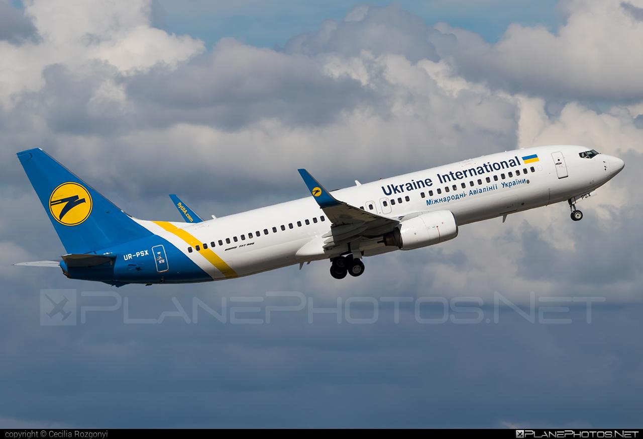 Ukraine International Airlines Boeing 737-800 - UR-PSX #b737 #b737nextgen #b737ng #boeing #boeing737 #uia #ukraineinternationalairlines
