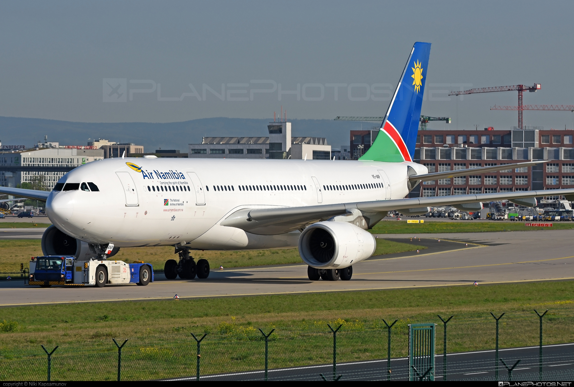 Airbus A330-243 - V5-ANP operated by Air Namibia #a330 #a330family #airbus #airbus330 #airnamibia