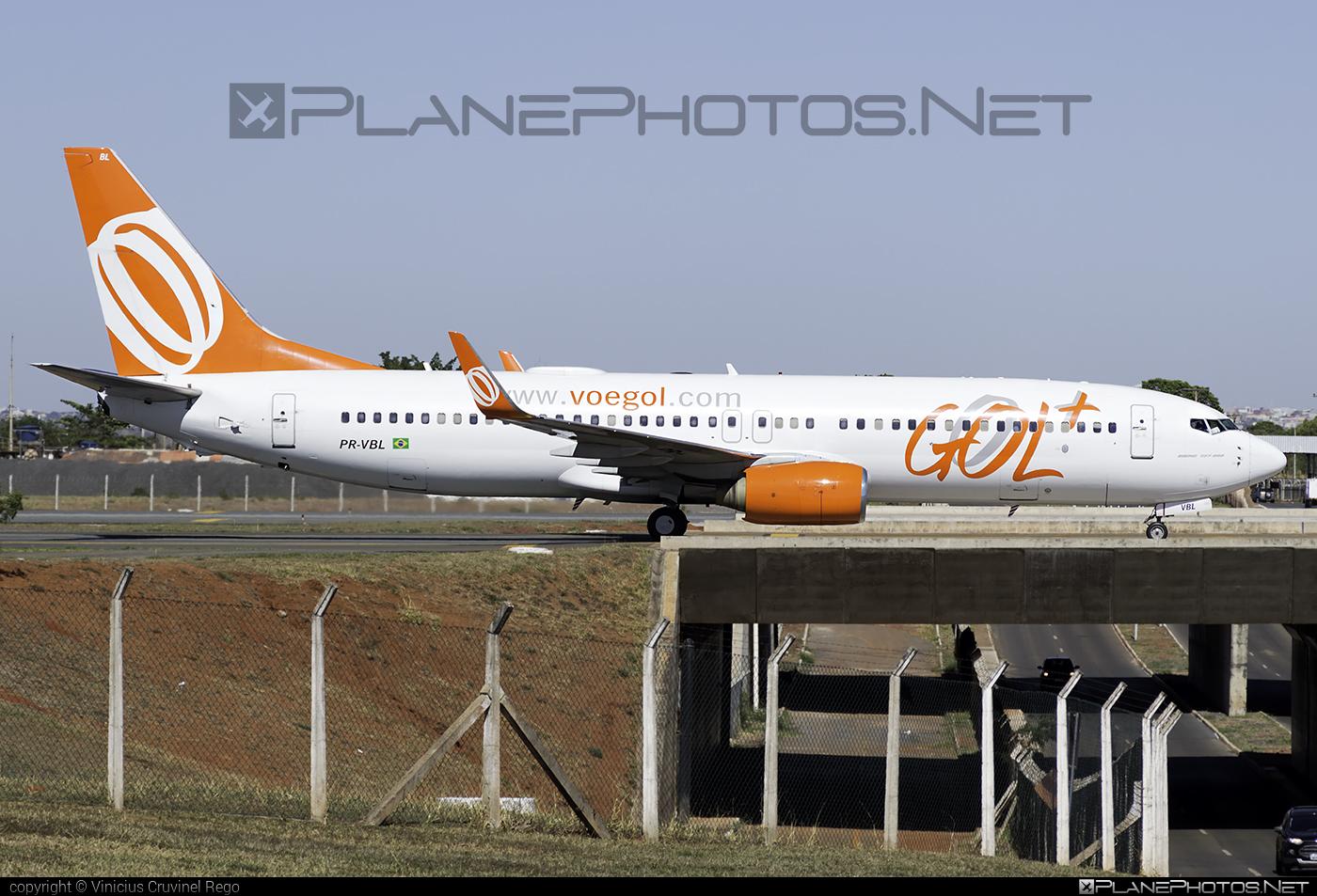 Boeing 737-800 - PR-VBL operated by GOL Linhas Aéreas Inteligentes #b737 #b737nextgen #b737ng #boeing #boeing737