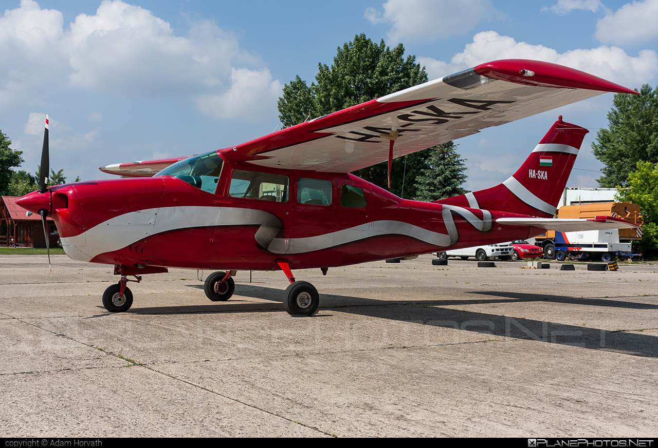 Cessna 210H Centurion - HA-SKA operated by Private operator #cessna #cessna210 #cessna210centurion #cessna210h #cessnacenturion