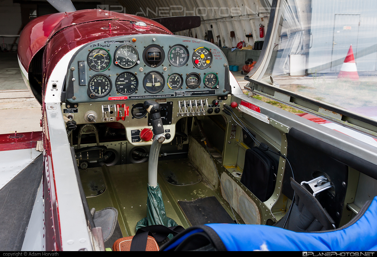 Zlin Z-50LS - HA-SIH operated by Magyar Repülő Szövetség (Hungarian Aeronautical Association) #magyarrepuloszovetseg #z50 #z50ls #zlin #zlin50