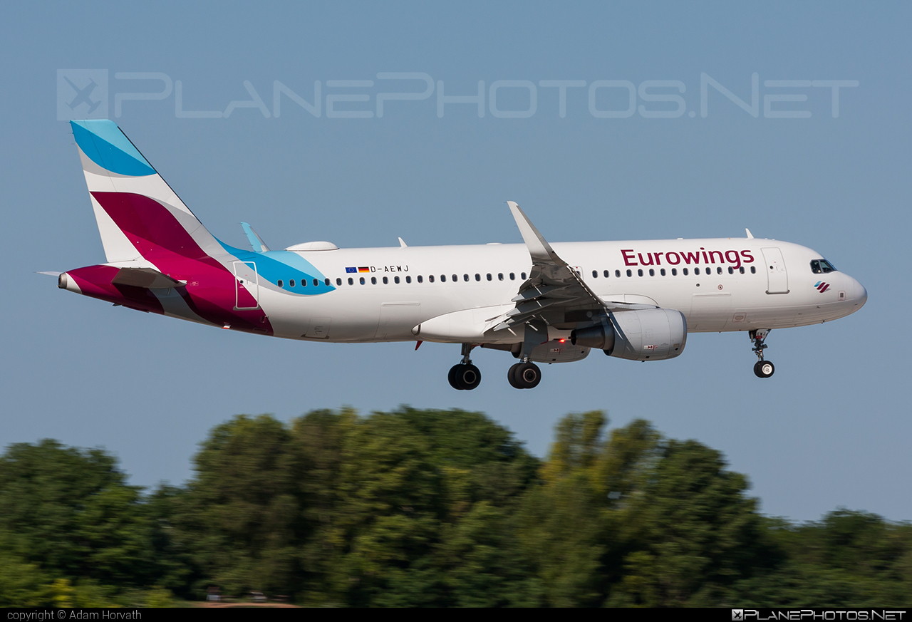 Airbus A320-214 - D-AEWJ operated by Eurowings #a320 #a320family #airbus #airbus320 #eurowings