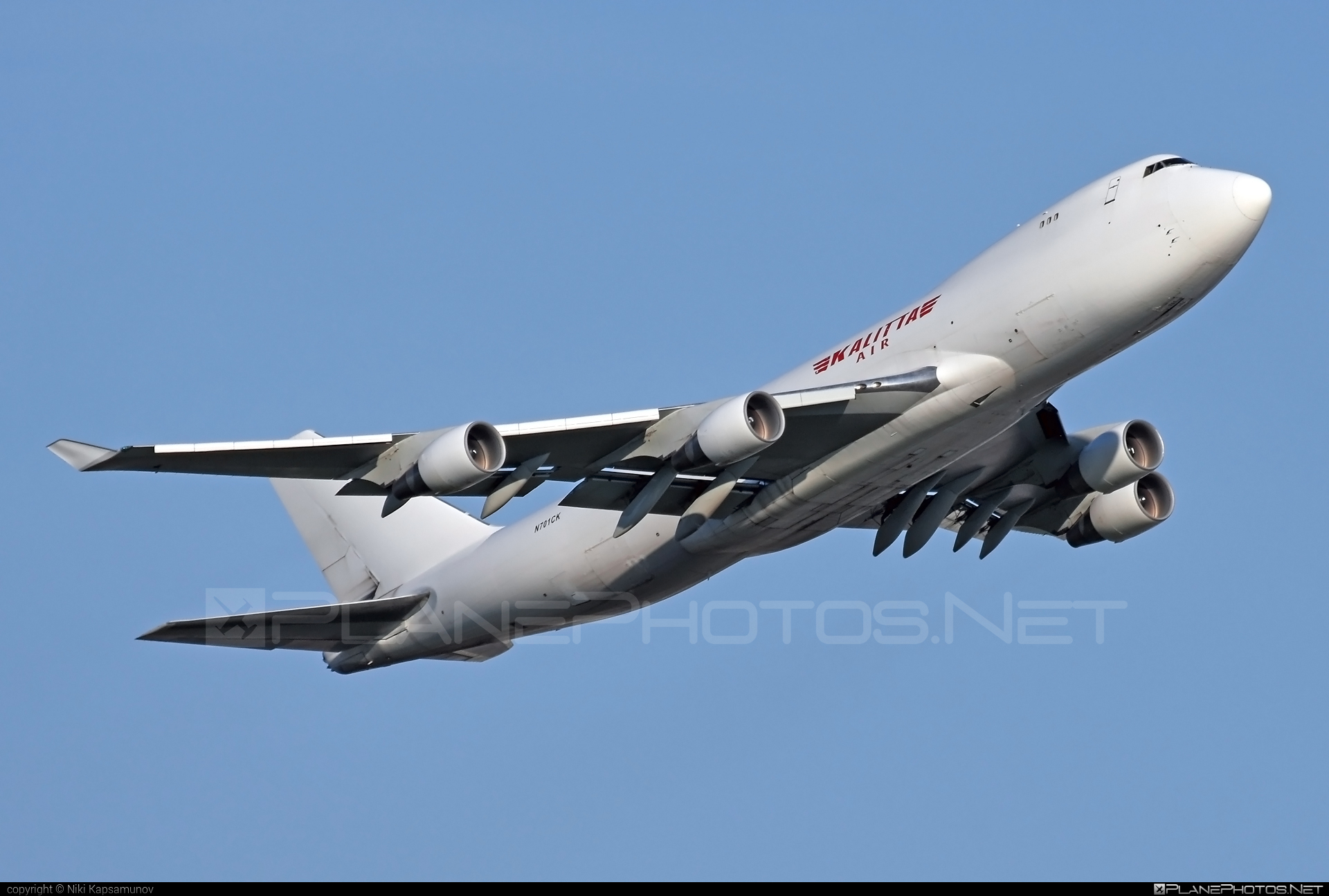 Kalitta Air Boeing 747-400F - N701CK #b747 #boeing #boeing747 #jumbo