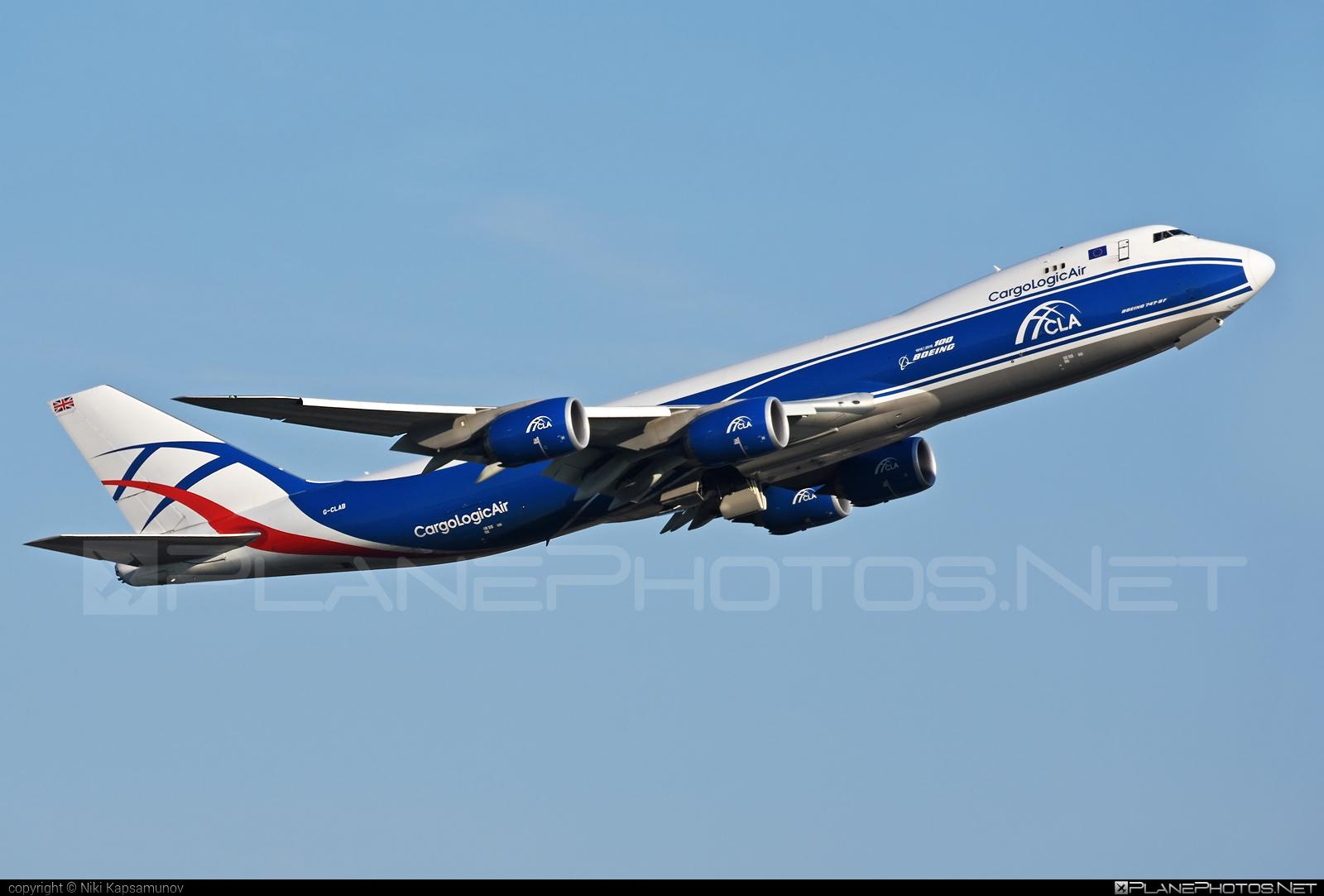 Boeing 747-8F - G-CLAB operated by CargoLogicAir #b747 #b747f #b747freighter #boeing #boeing747 #cargologicair #jumbo