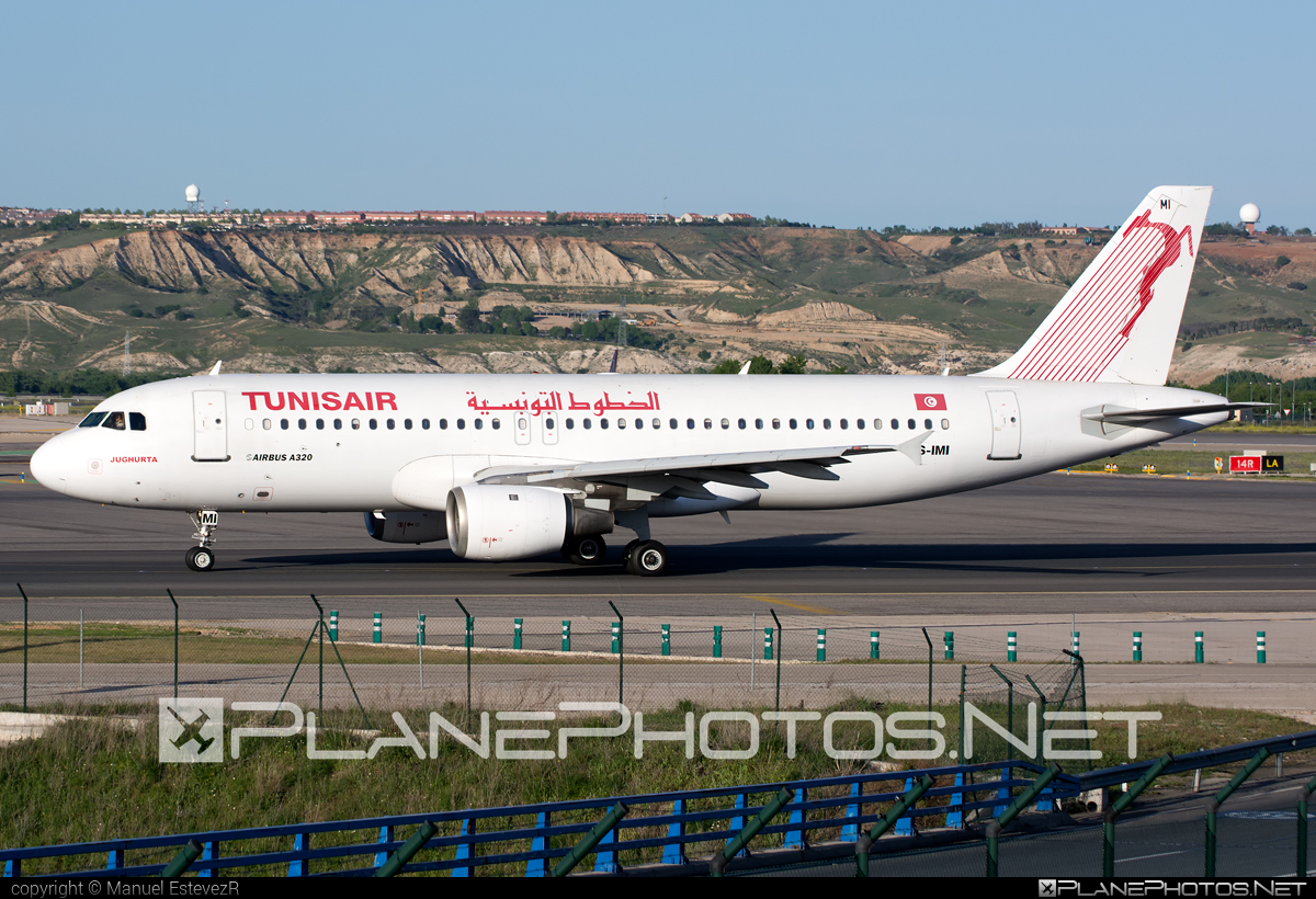 Airbus A320-211 - TS-IMI operated by Tunisair #a320 #a320family #airbus #airbus320 #tunisair