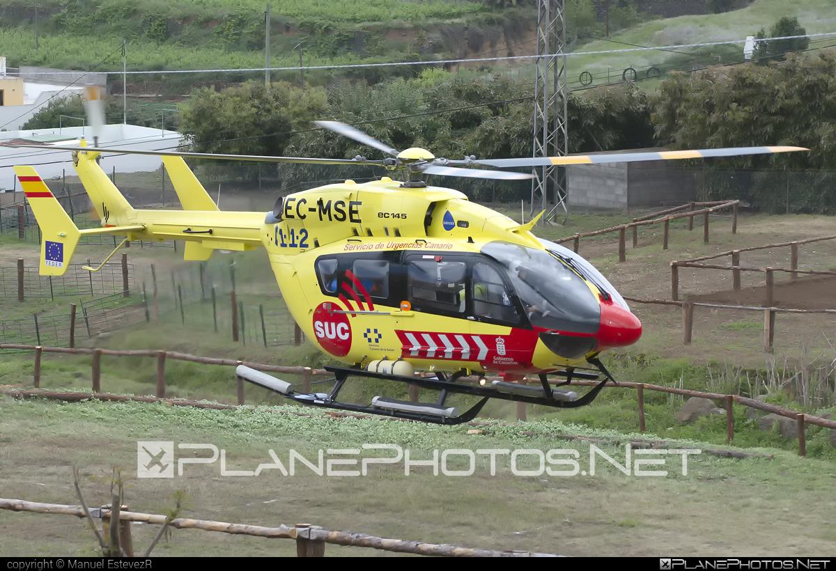 Eurocopter EC145 - EC-MSE operated by SUC - Servicio de Urgencias Canario #ec145 #eurocopter #serviciodeurgenciascanario