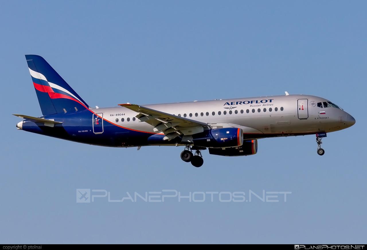 Sukhoi SSJ 100-95B Superjet - RA-89044 operated by Aeroflot #aeroflot #ssj100 #ssj10095b #sukhoi #sukhoisuperjet #superjet