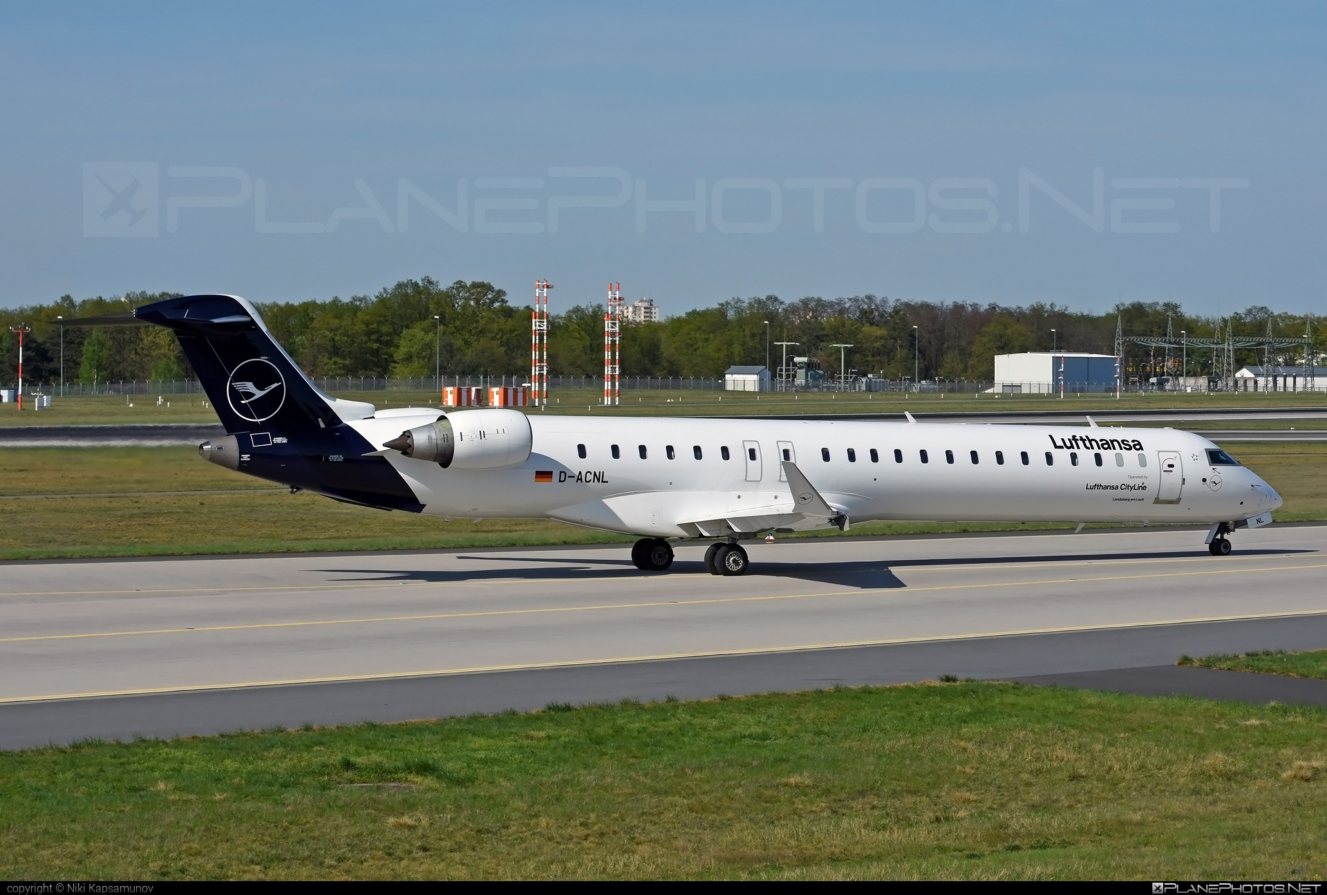 Bombardier CRJ900LR - D-ACNL operated by Lufthansa CityLine #bombardier #crj900 #crj900lr #lufthansa #lufthansacityline