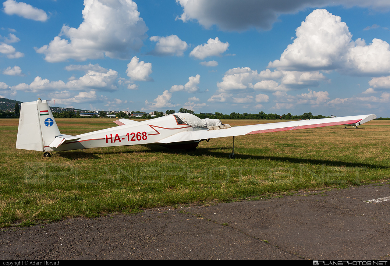 Scheibe SF-25C Falke - HA-1268 operated by Private operator #scheibe #scheibefalke #sf25 #sf25c
