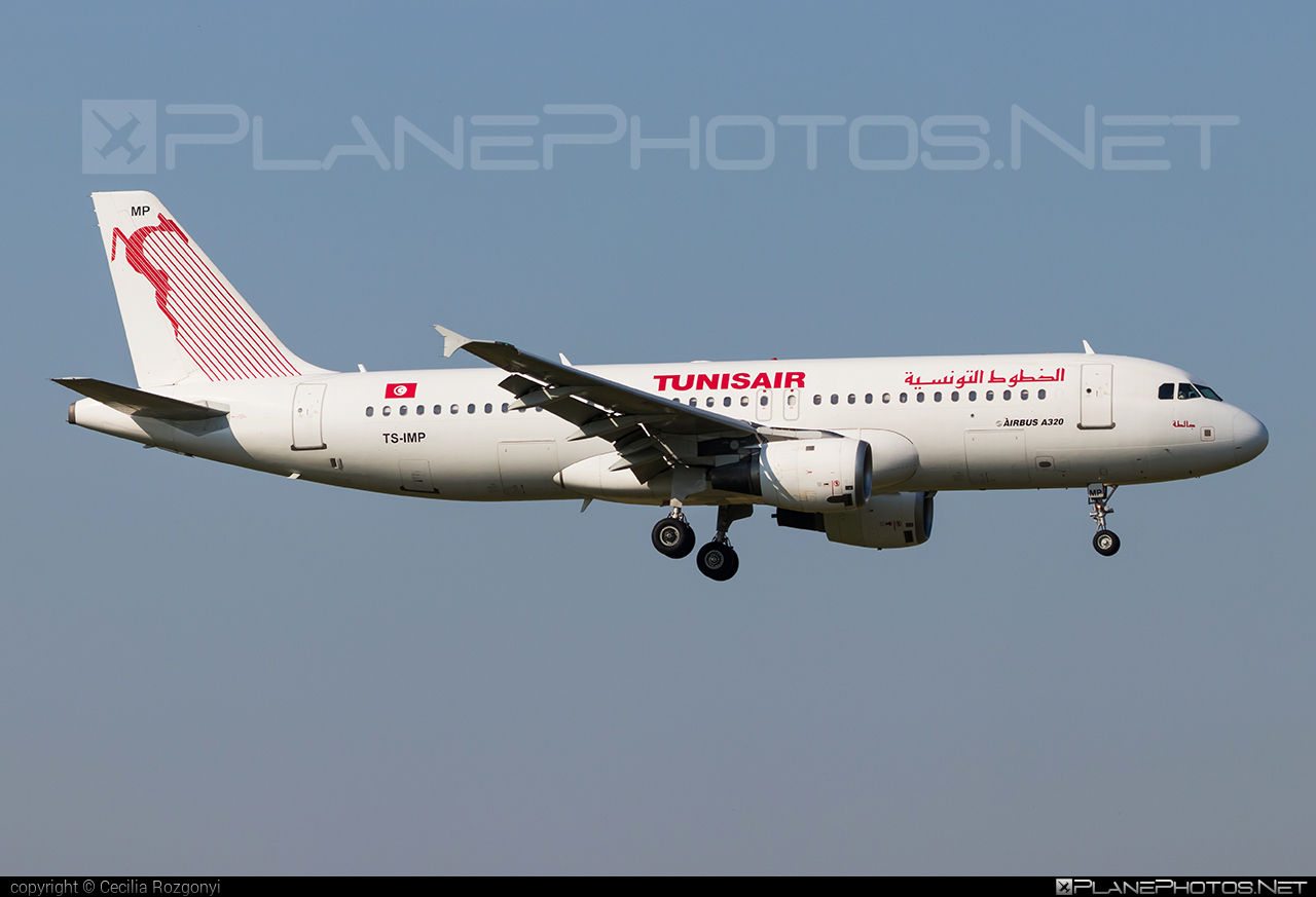 Airbus A320-214 - TS-IMP operated by Tunisair #a320 #a320family #airbus #airbus320 #tunisair
