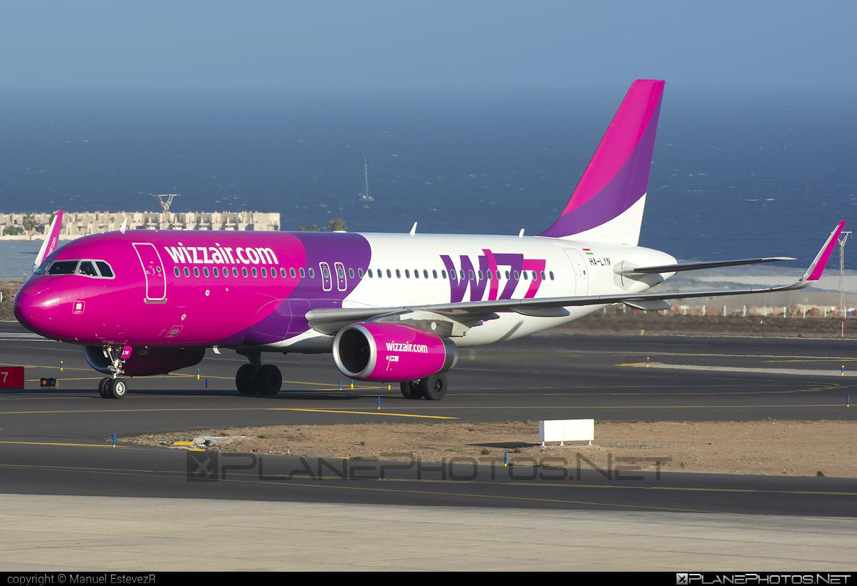 Wizz Air Airbus A320-232 - HA-LYN #a320 #a320family #airbus #airbus320 #wizz #wizzair