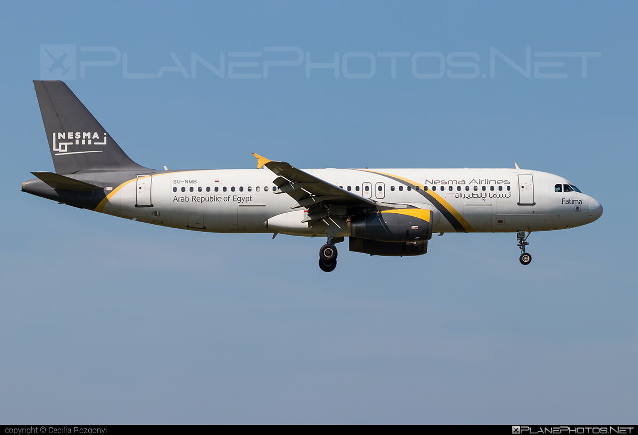 Airbus A320-232 - SU-NMB operated by Nesma Airlines #a320 #a320family #airbus #airbus320