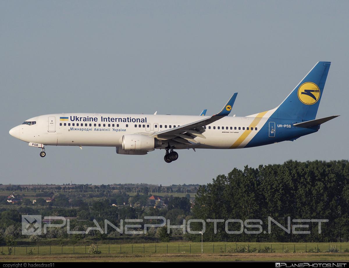 Boeing 737-800 - UR-PSB operated by Ukraine International Airlines #b737 #b737nextgen #b737ng #boeing #boeing737 #uia #ukraineinternationalairlines