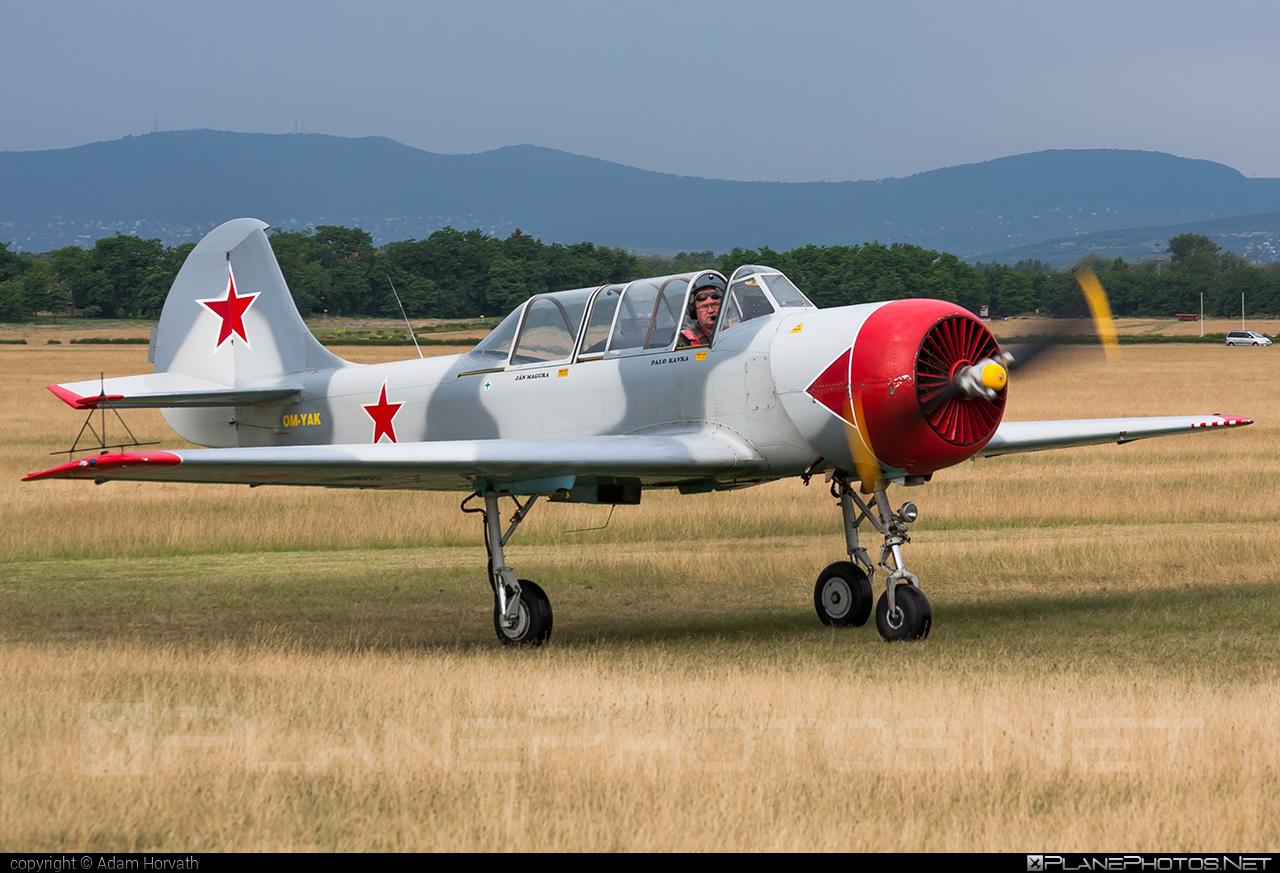Yakovlev Yak-52 - OM-YAK operated by Aeroklub Košice #retroskyteam #rst #yak #yak52 #yakovlev