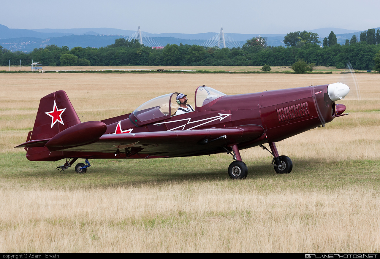 Aeroklub Košice Zlin Z-526AFS-V Akrobat Speciál - OM-ARU #akrobatspecial #kratas #retroskyteam #rst #z526 #z526akrobatspecial #zlin #zlin526