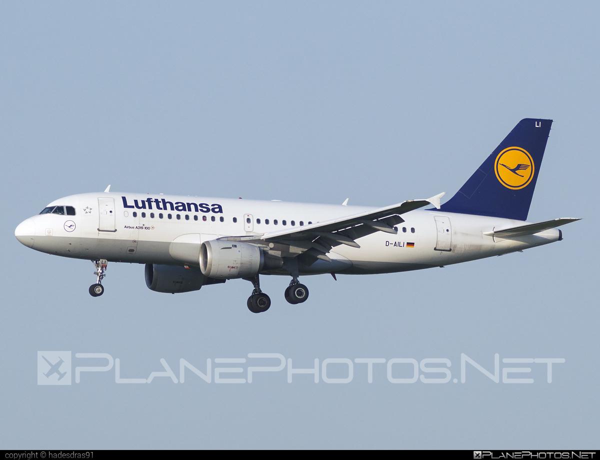 Lufthansa Airbus A319-114 - D-AILI #a319 #a320family #airbus #lufthansa