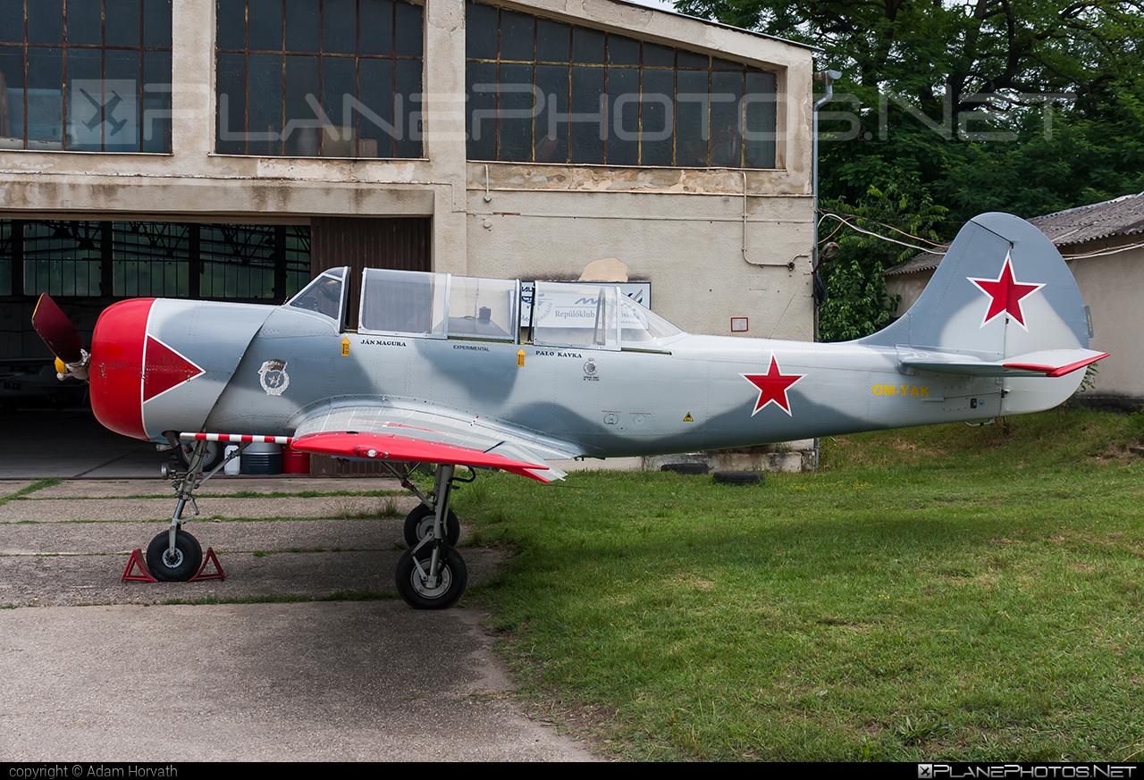 Aeroklub Košice Yakovlev Yak-52 - OM-YAK #yak #yak52 #yakovlev