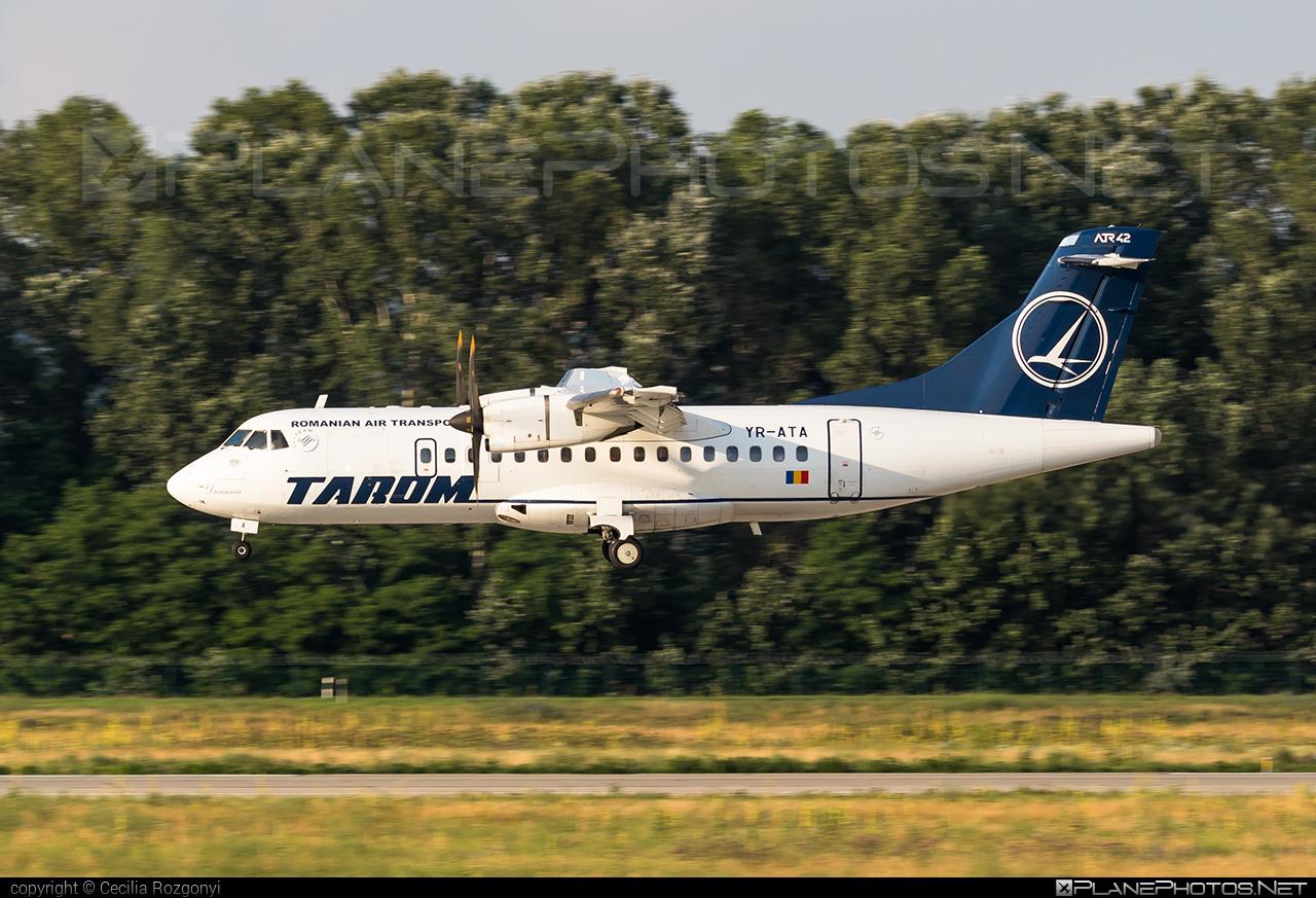 Tarom ATR 42-500 - YR-ATA #atr