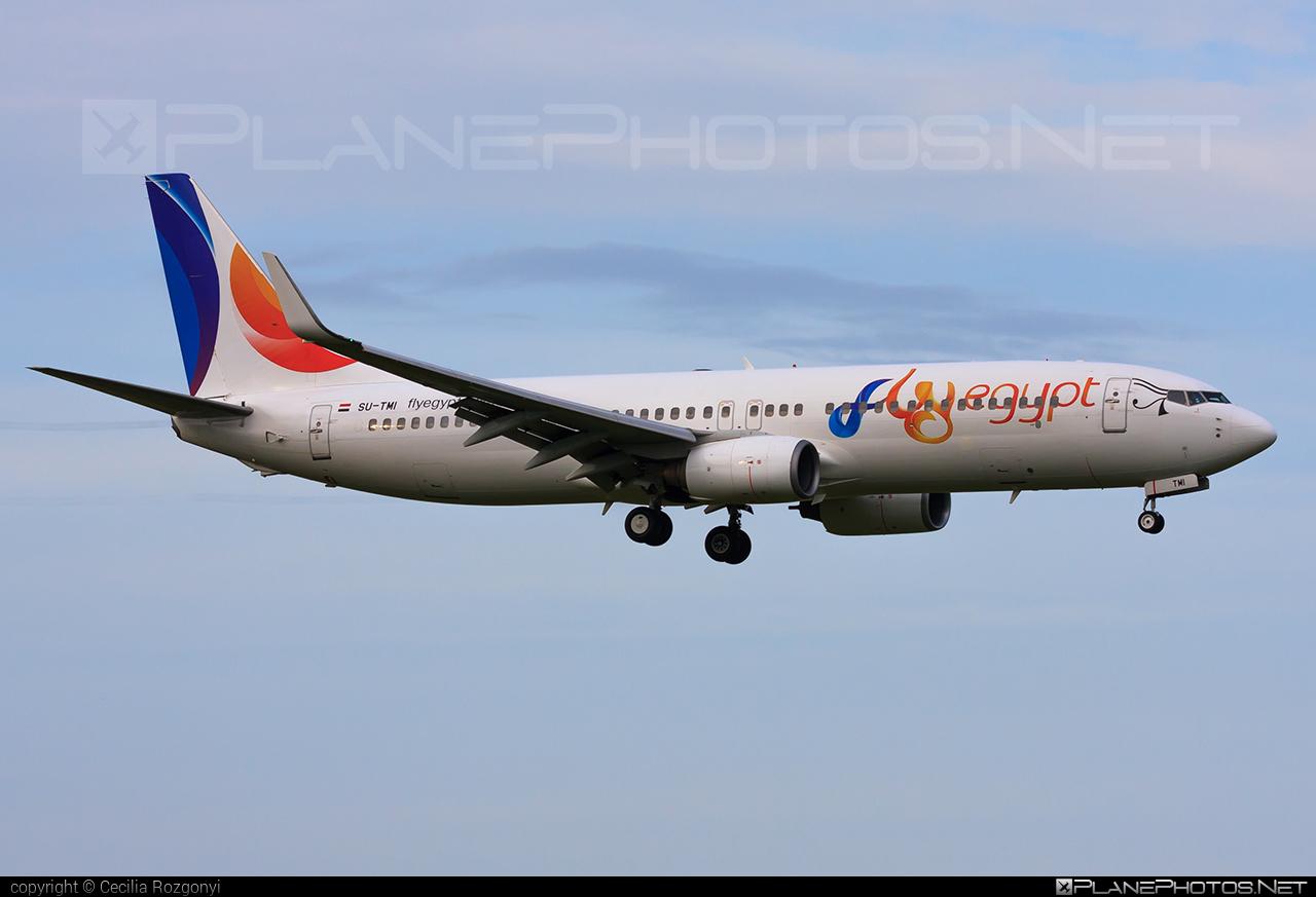 FlyEgypt Boeing 737-800 - SU-TMI #b737 #b737nextgen #b737ng #boeing #boeing737