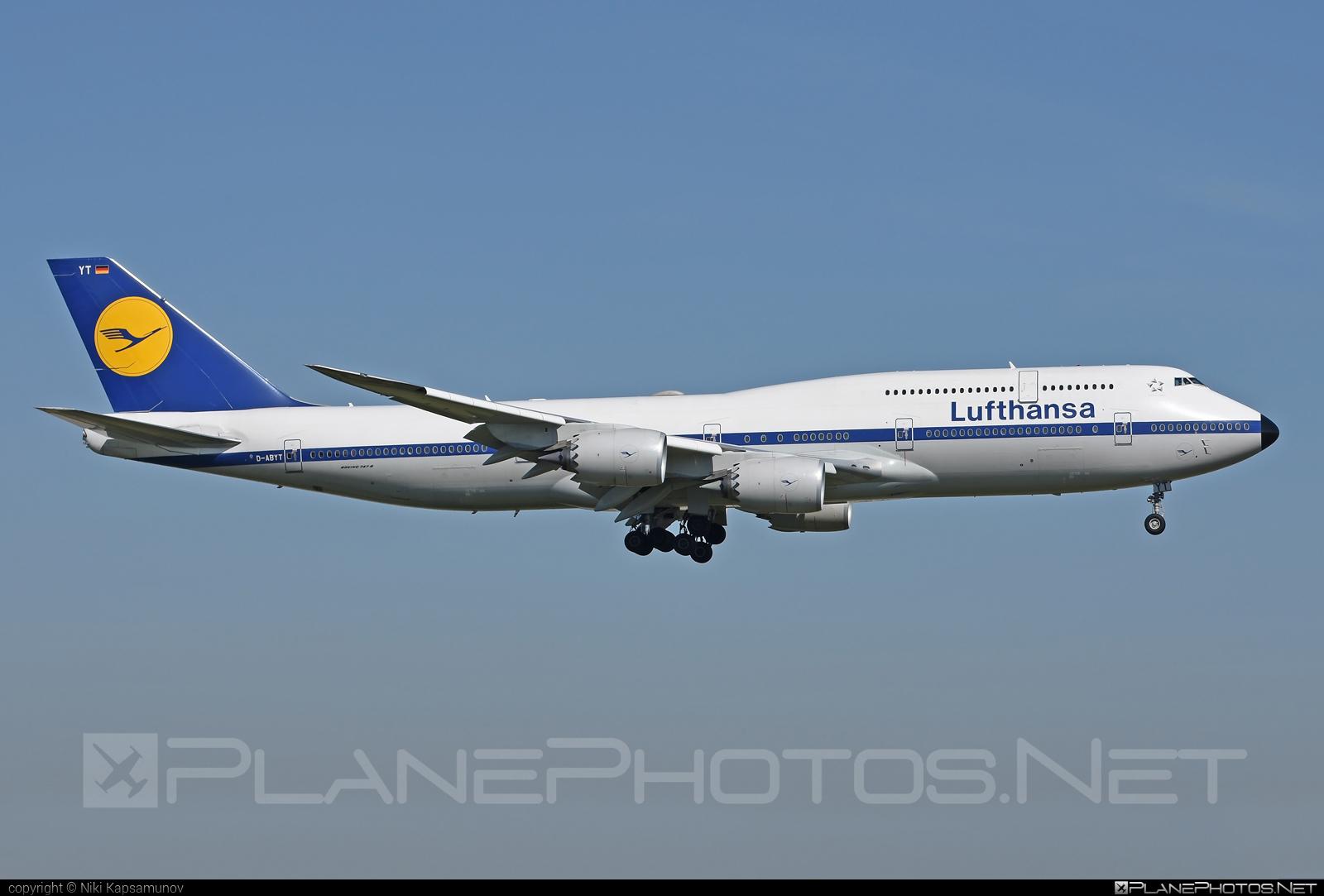Boeing 747-8 - D-ABYT operated by Lufthansa #b747 #boeing #boeing747 #jumbo #lufthansa