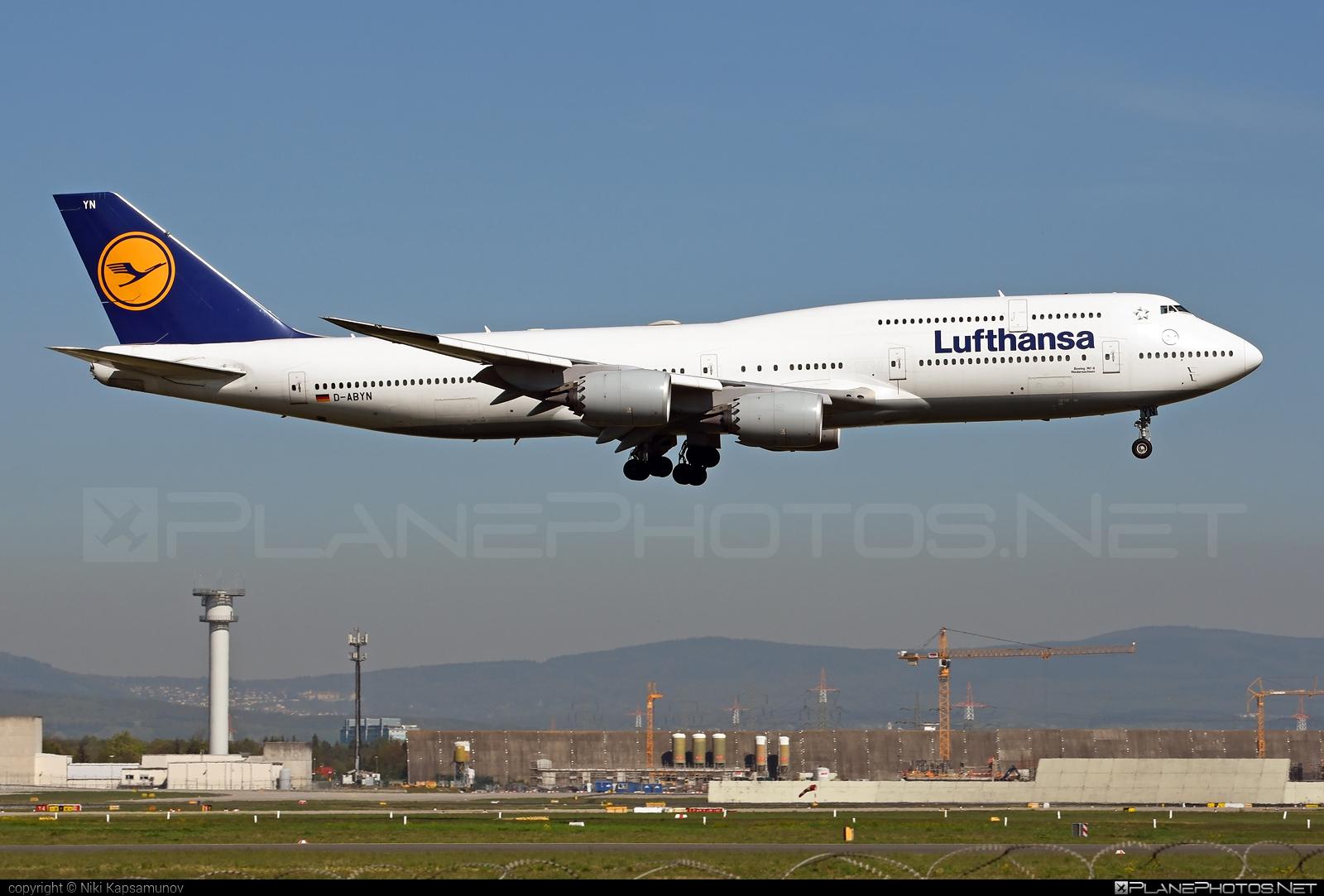 Boeing 747-8 - D-ABYN operated by Lufthansa #b747 #boeing #boeing747 #jumbo #lufthansa