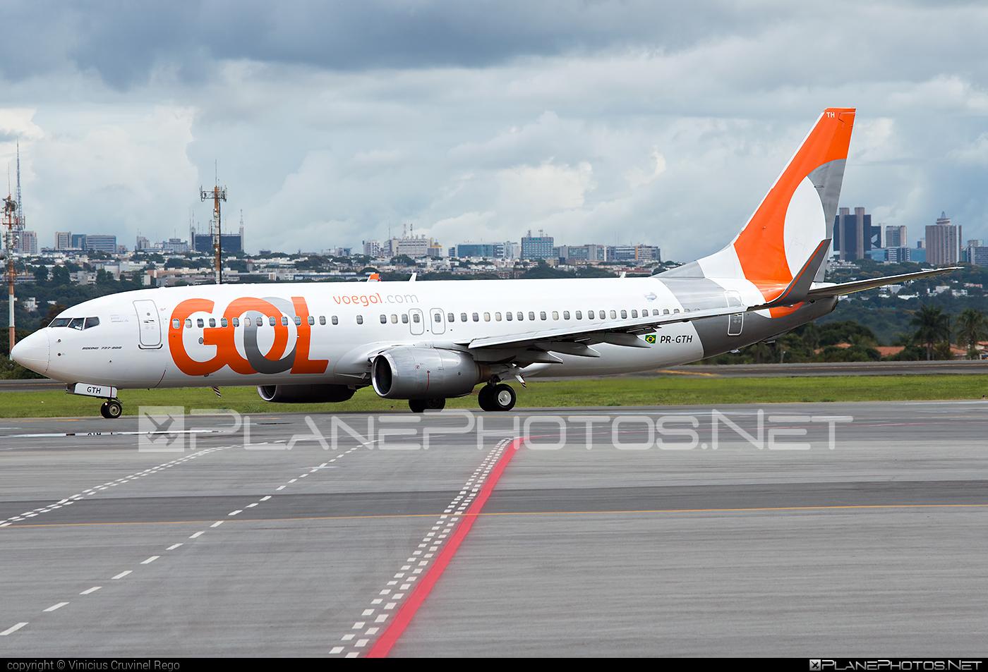 Boeing 737-800 - PR-GTH operated by GOL Linhas Aéreas Inteligentes #b737 #b737nextgen #b737ng #boeing #boeing737