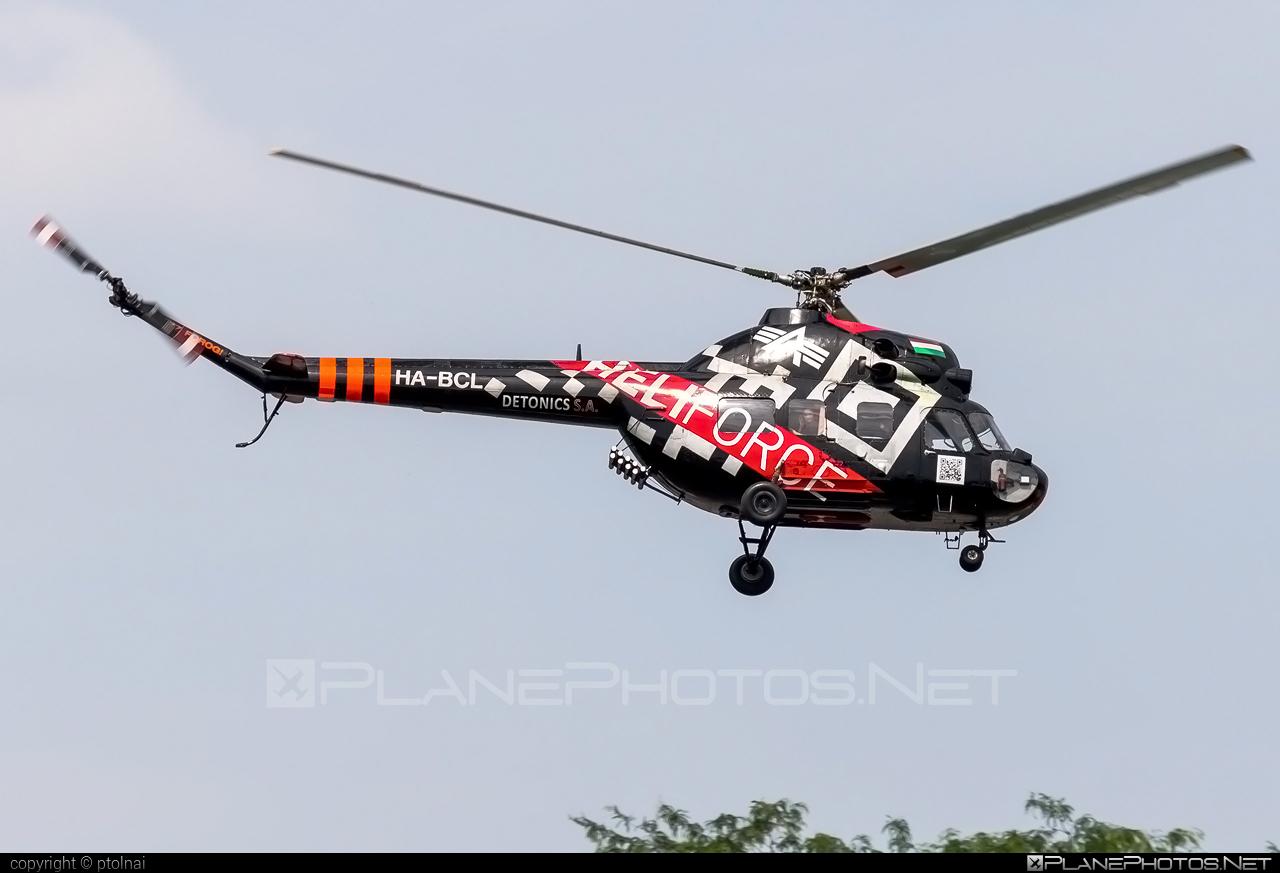 Mil Mi-2 - HA-BCL operated by Forgószárny Kft. #mil #milhelicopters