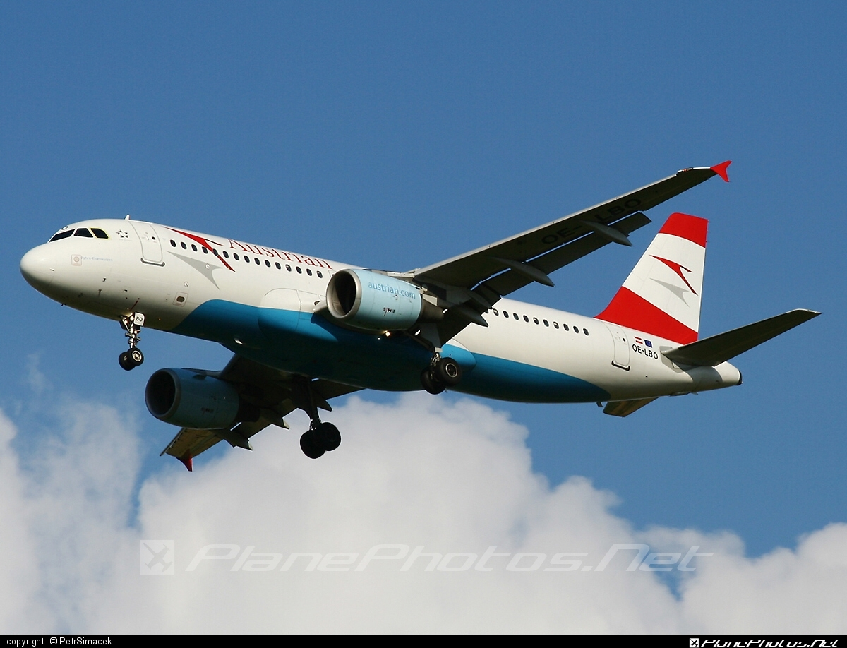 Airbus A320-214 - OE-LBO operated by Austrian Airlines #a320 #a320family #airbus #airbus320