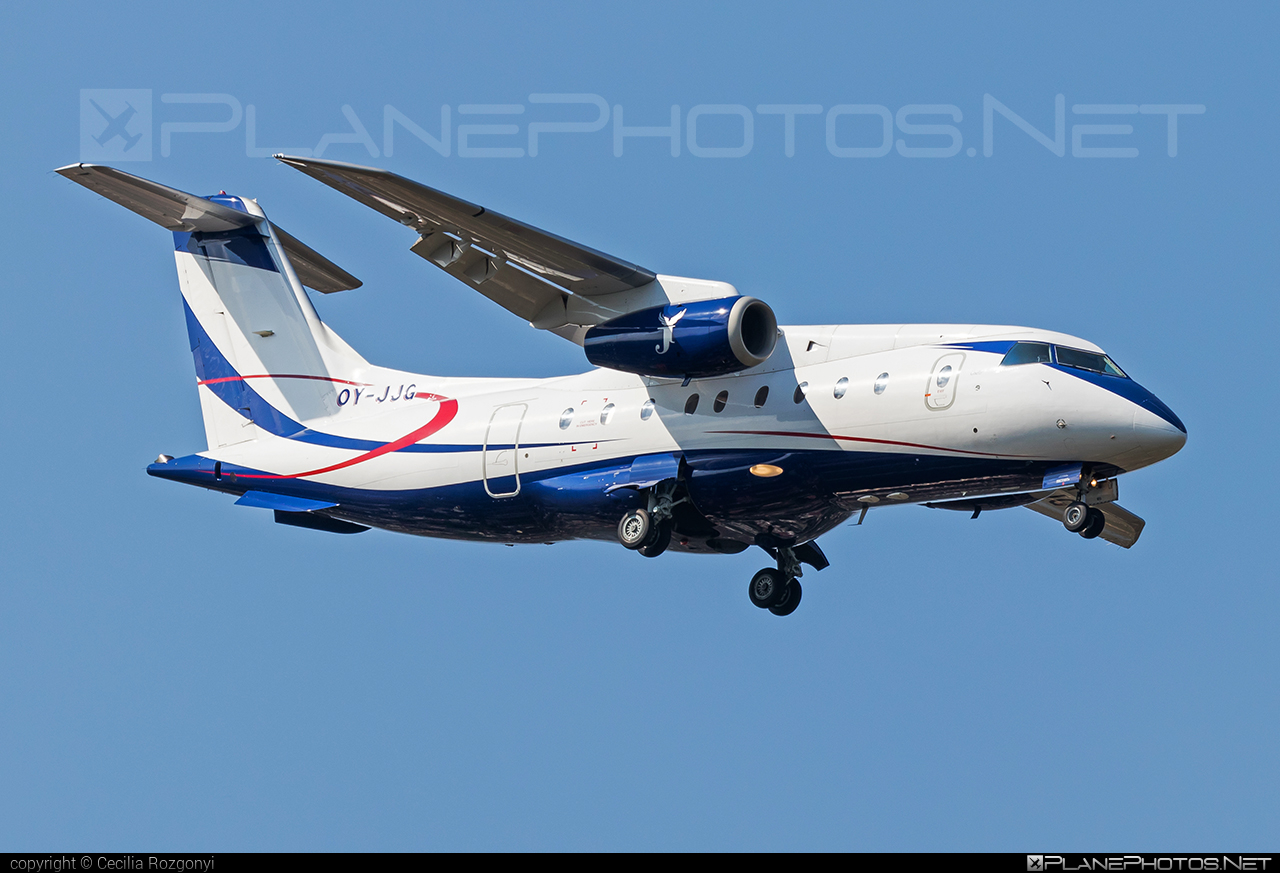 Fairchild-Dornier 328JET - OY-JJG operated by SUN-AIR of Scandinavia #328jet #dornier328jet #fairchilddornier #sunair #sunairofscandinavia