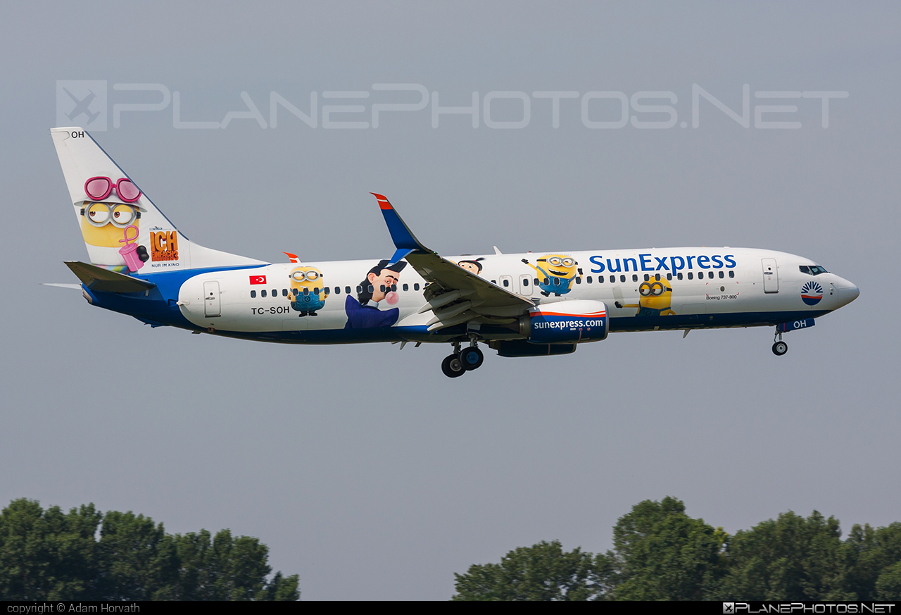 Boeing 737-800 - TC-SOH operated by SunExpress #b737 #b737nextgen #b737ng #boeing #boeing737 #sunexpress