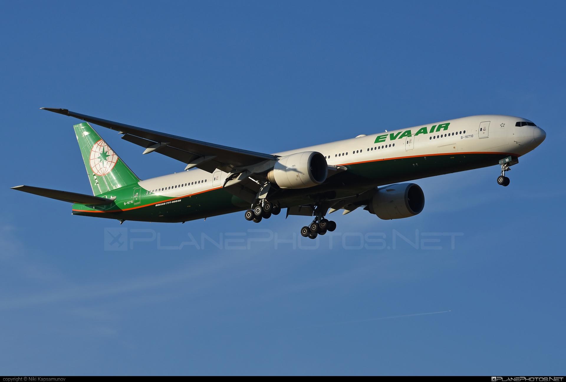 Boeing 777-300ER - B-16710 operated by EVA Air #b777 #b777er #boeing #boeing777 #tripleseven