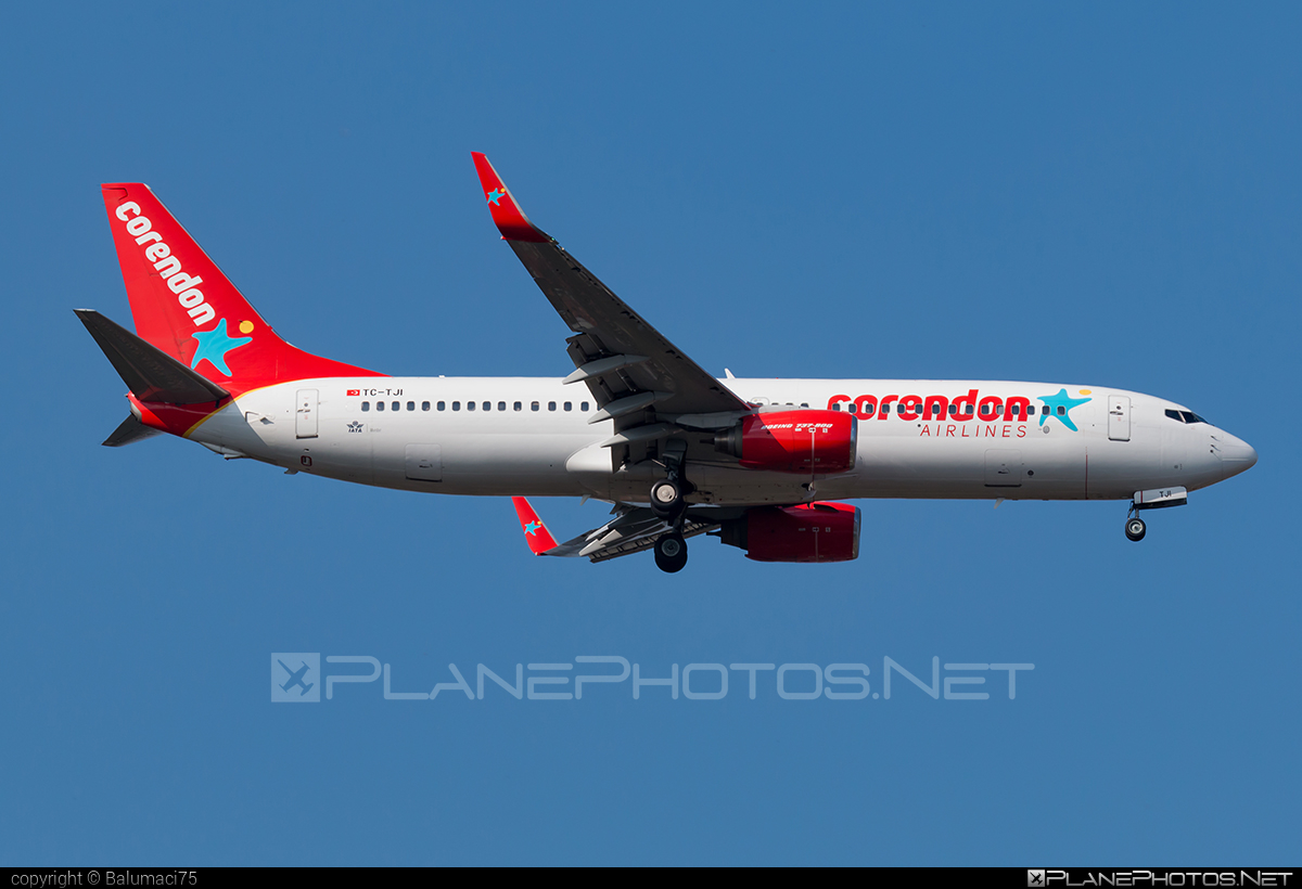 Boeing 737-800 - TC-TJI operated by Corendon Airlines #b737 #b737nextgen #b737ng #boeing #boeing737