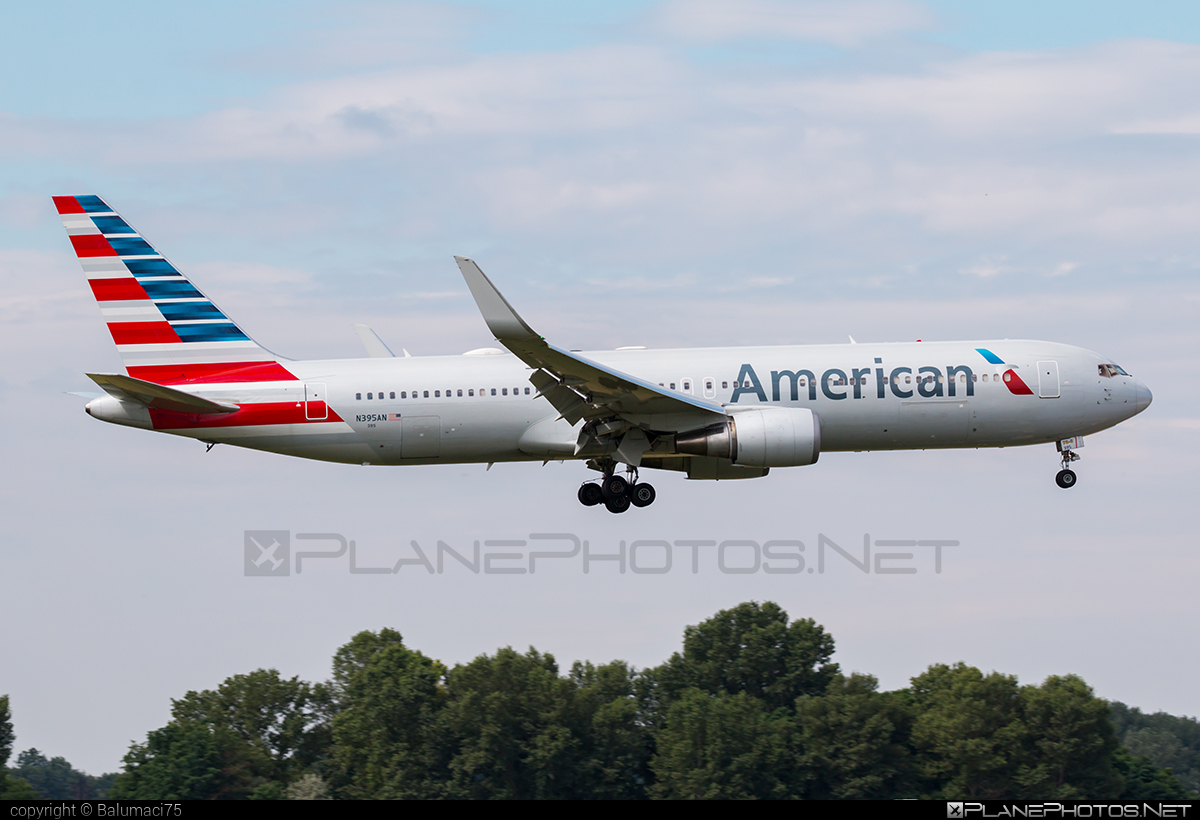 Boeing 767-300ER - N395AN operated by American Airlines #americanairlines #b767 #b767er #boeing #boeing767
