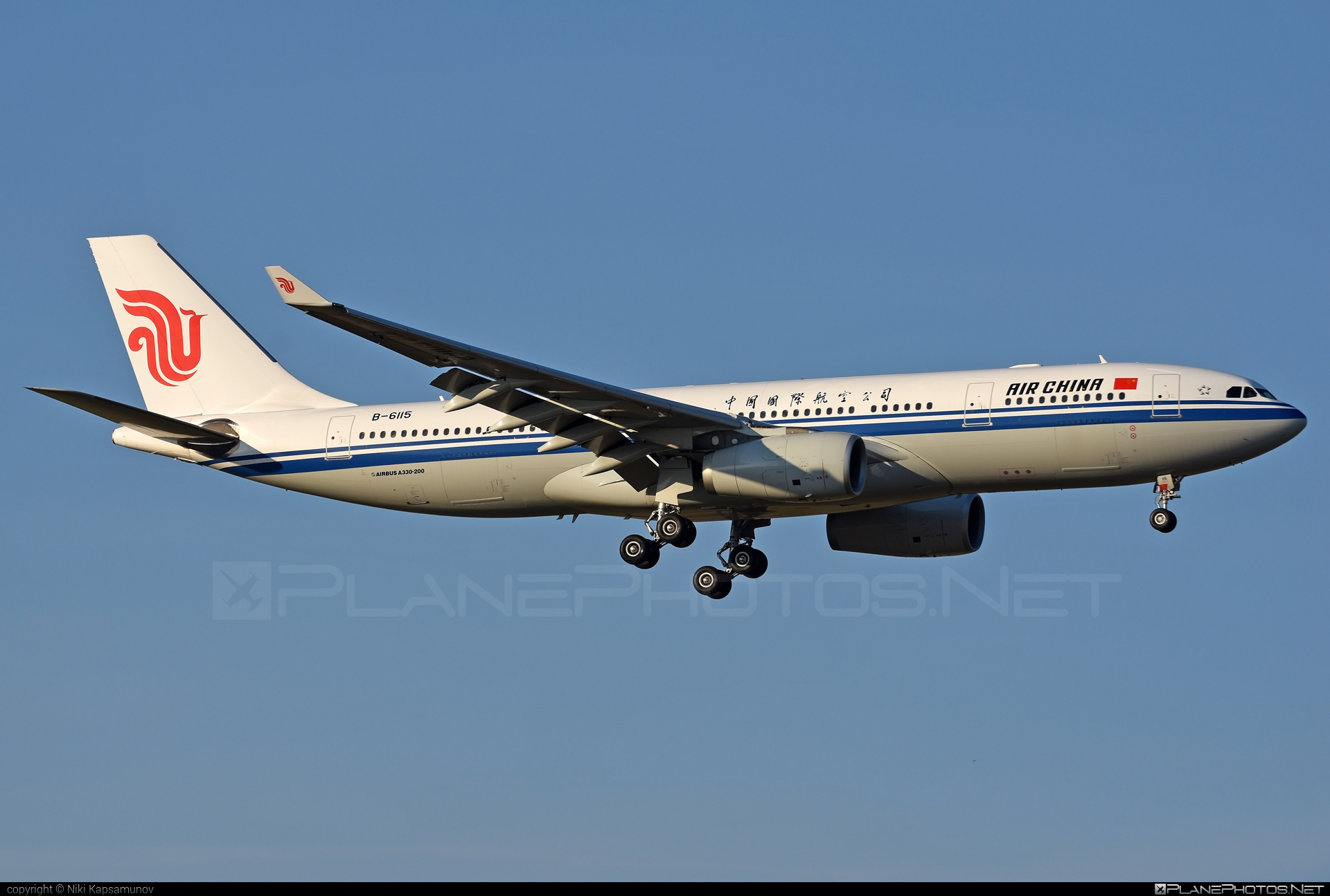 Airbus A330-243 - B-6115 operated by Air China #a330 #a330family #airbus #airbus330 #airchina